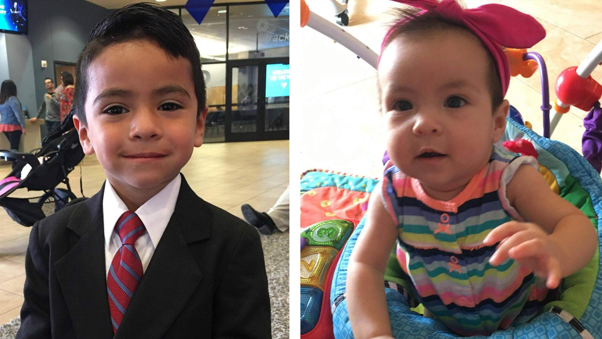 Five-year-old Luis Jr. and 6-month-old Kahmila Ramirez were last seen May, 4, 2018 during a supervised visit with their parents, who are accused of kidnapping them.