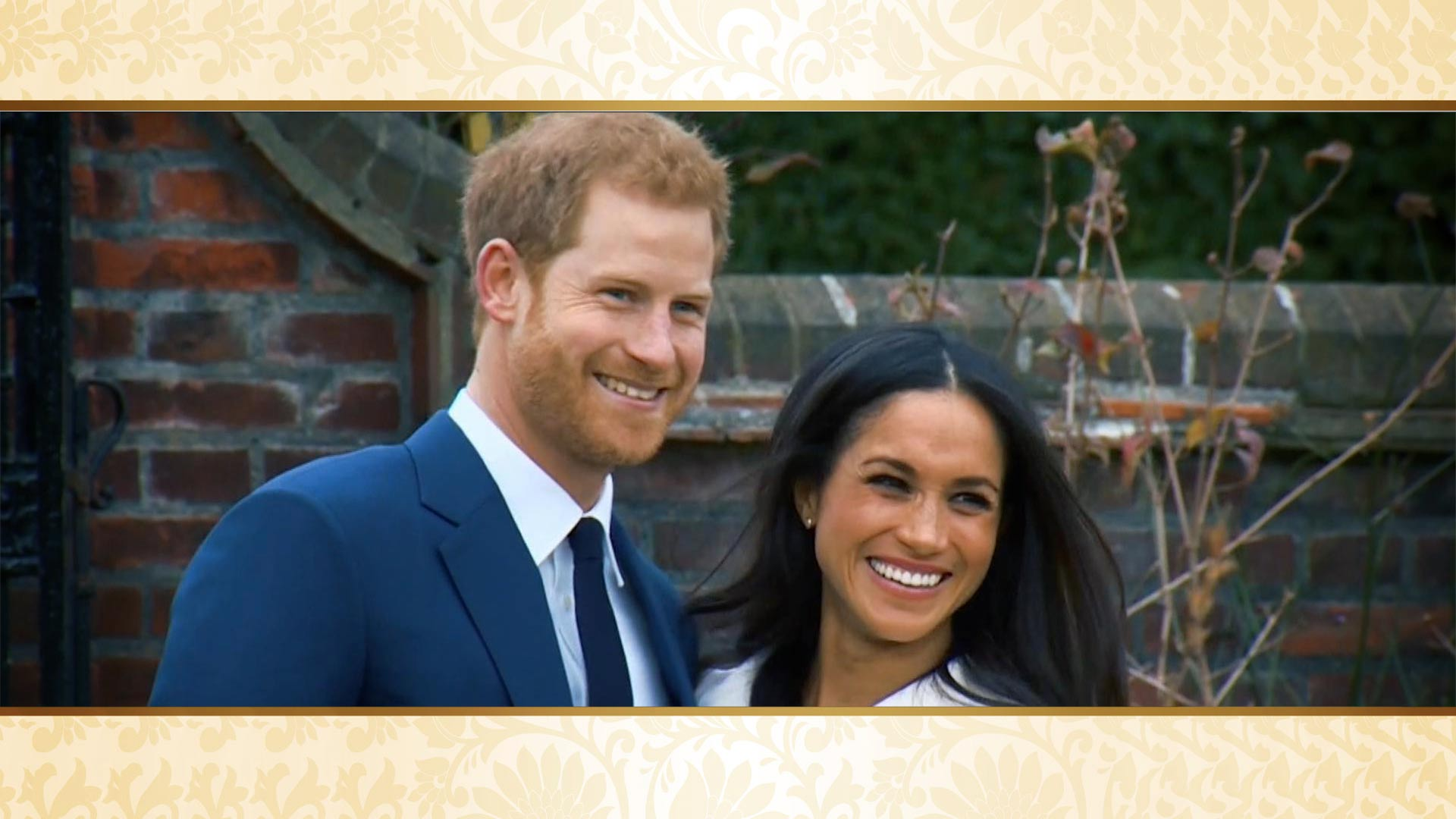 Prince Harry of Wales and American Meghan Markle.