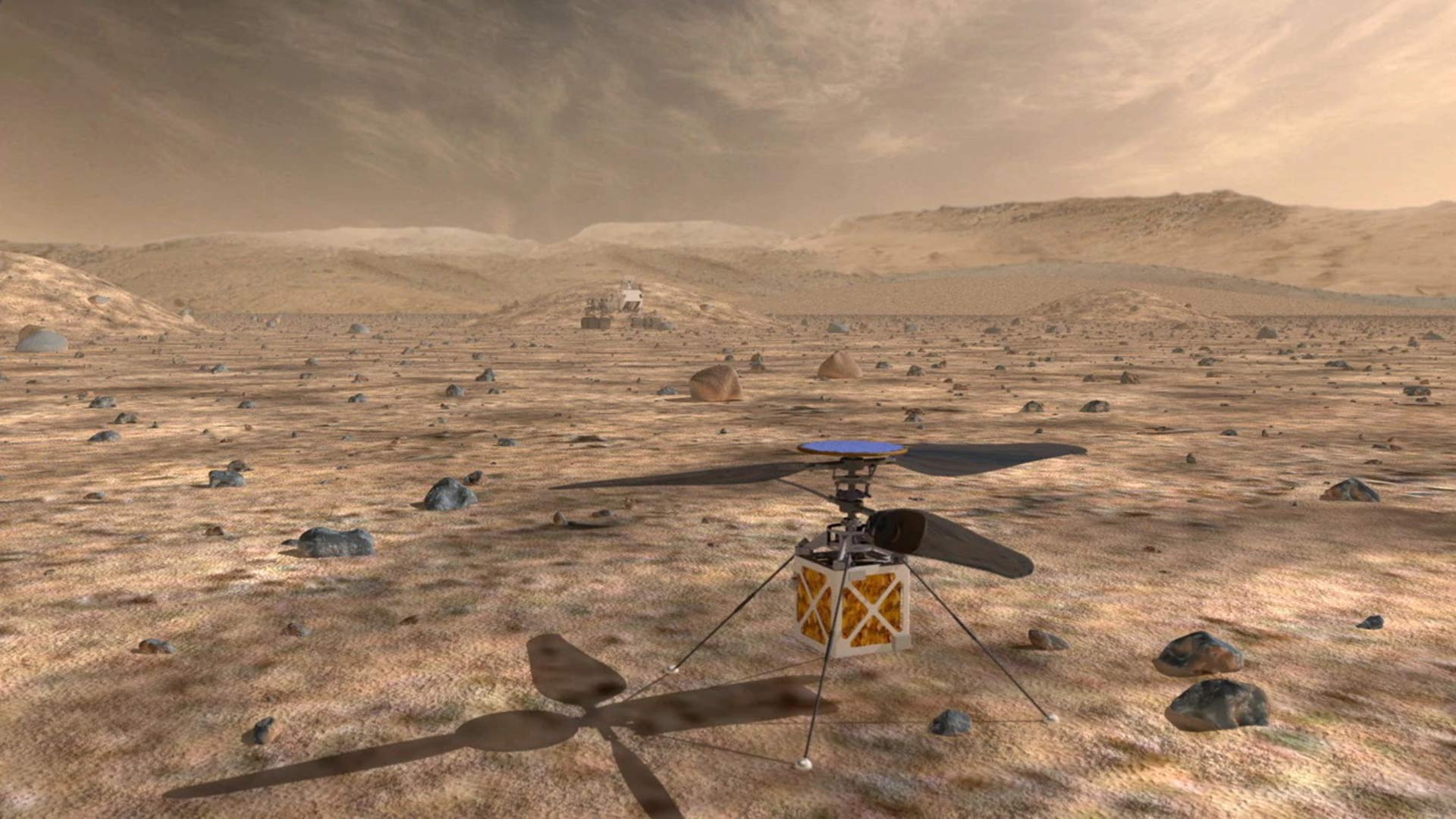 A helicopter drone could triple the distances that Mars rovers can drive in a Martian day and help pinpoint interesting targets for study.
