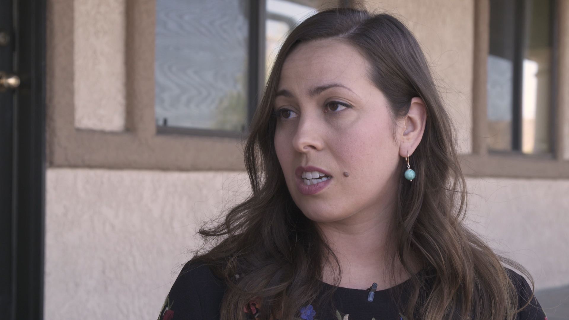 Kendal Blust, a reporter for the Nogales International.