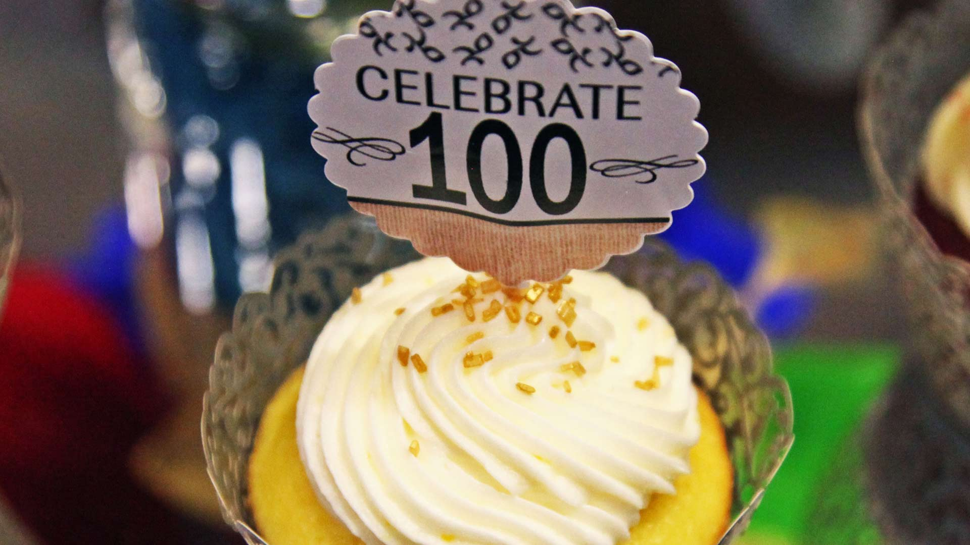 "Cupcakes were among the many treats offered to visitors at the Pima Council on Aging's 2018 ""Salute to Centenarians"", held at Tucson Medical Center."