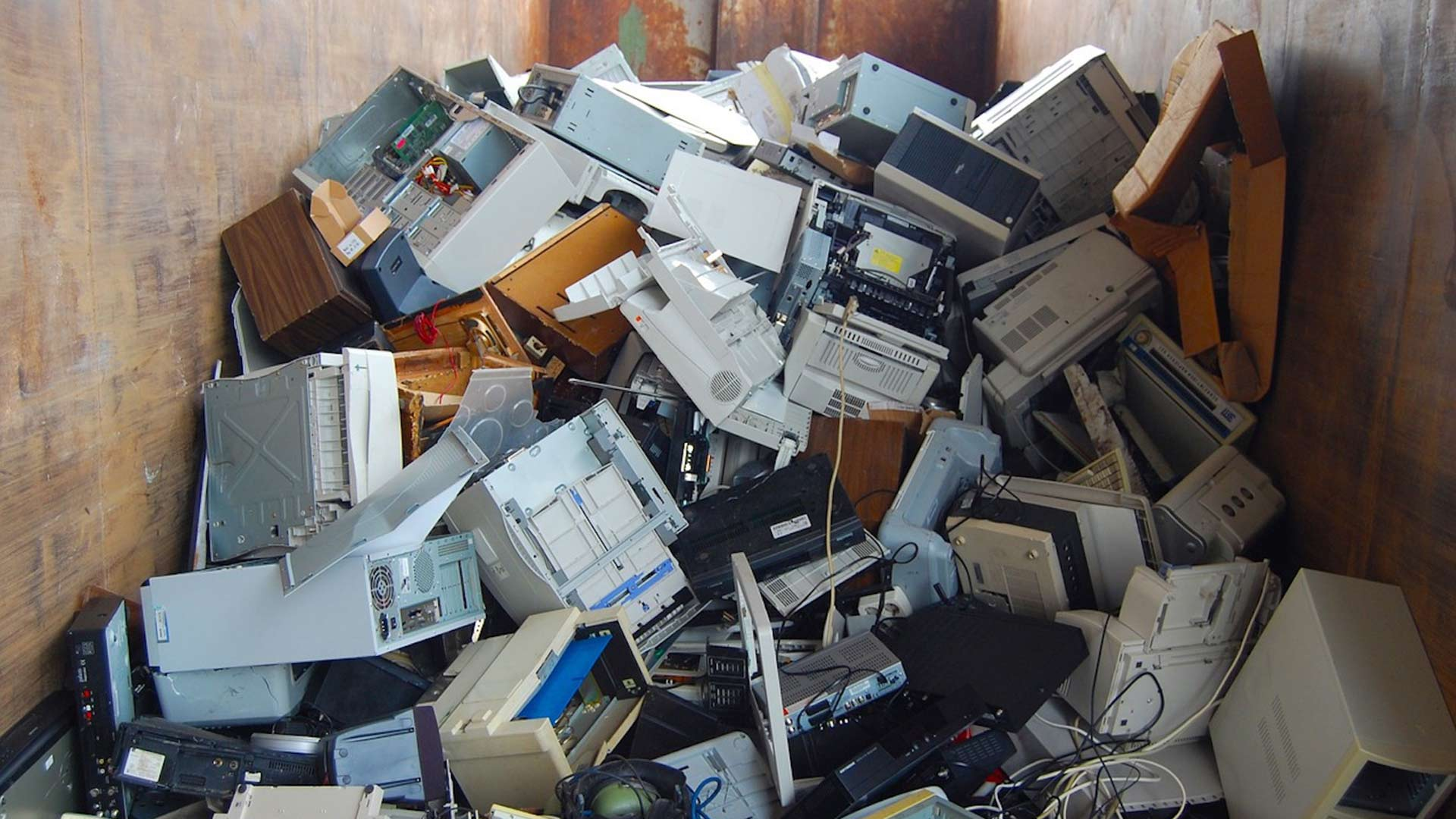Old computers, cell phones, televisions and printers are electronic items that can be recycled instead of deposited in landfills.
