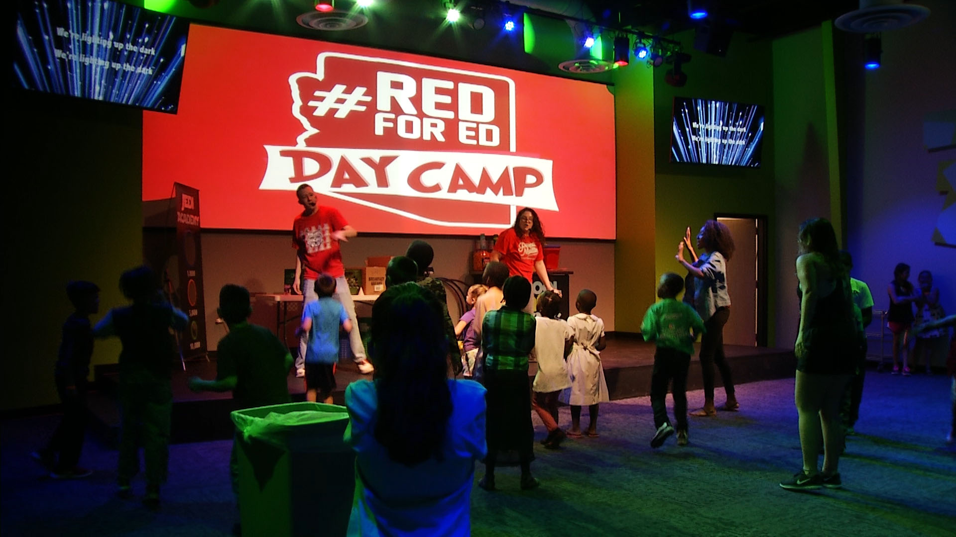 Red For Ed Day Camp at Victory Worship Center
