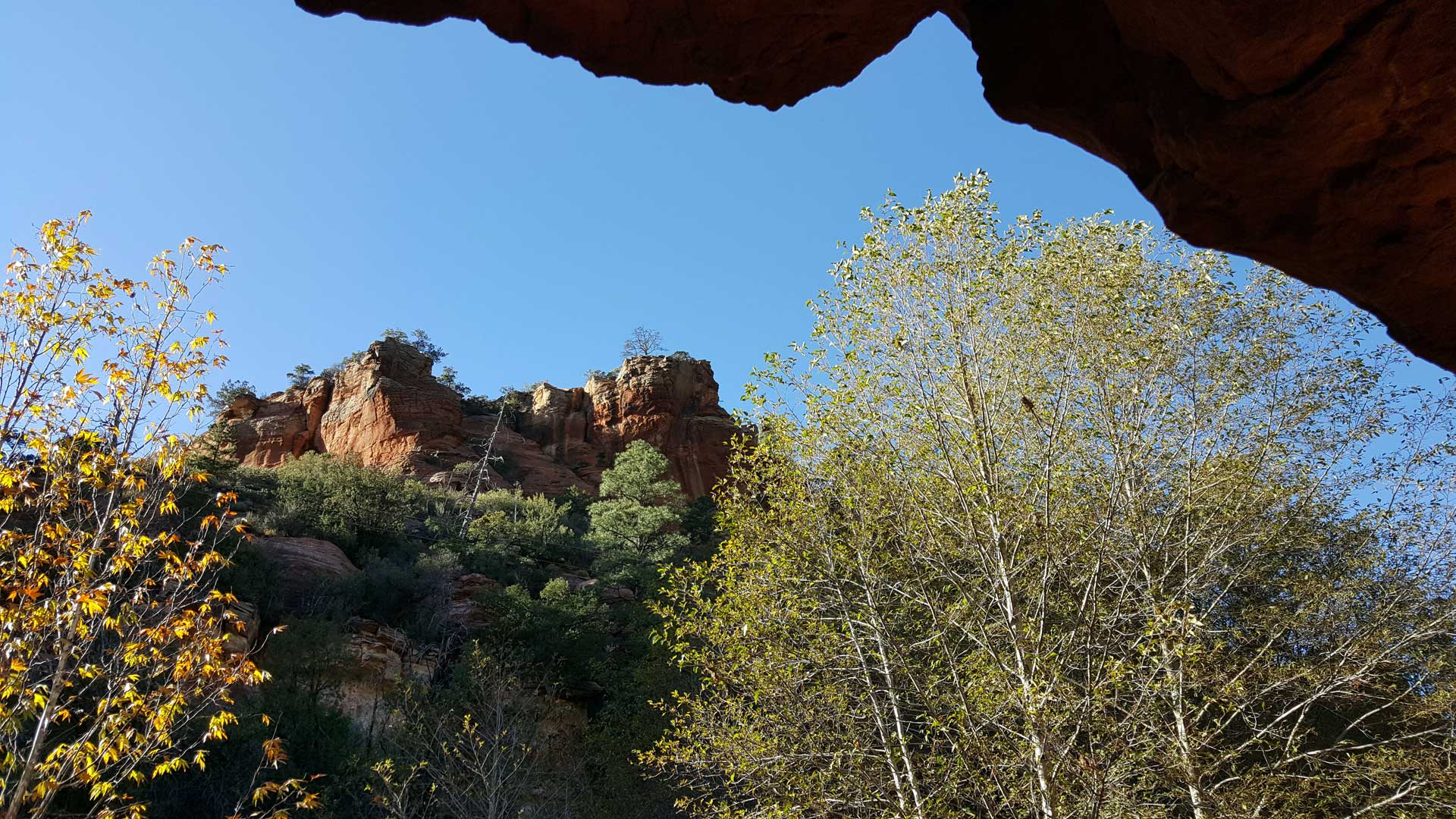Slide Rock State Park near Sedona.