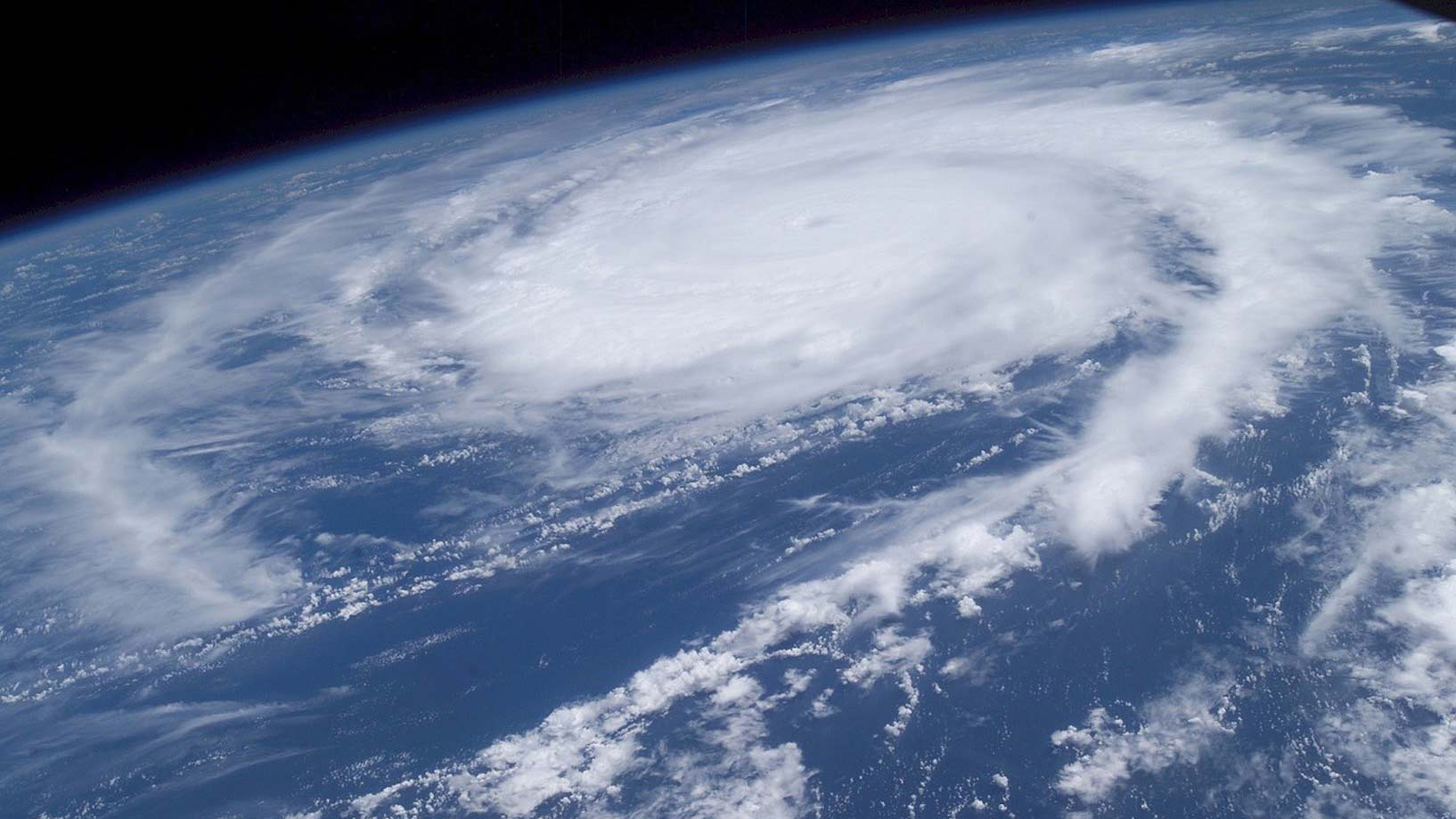Hurricane Frances as seen from the International Space Station, 2004.