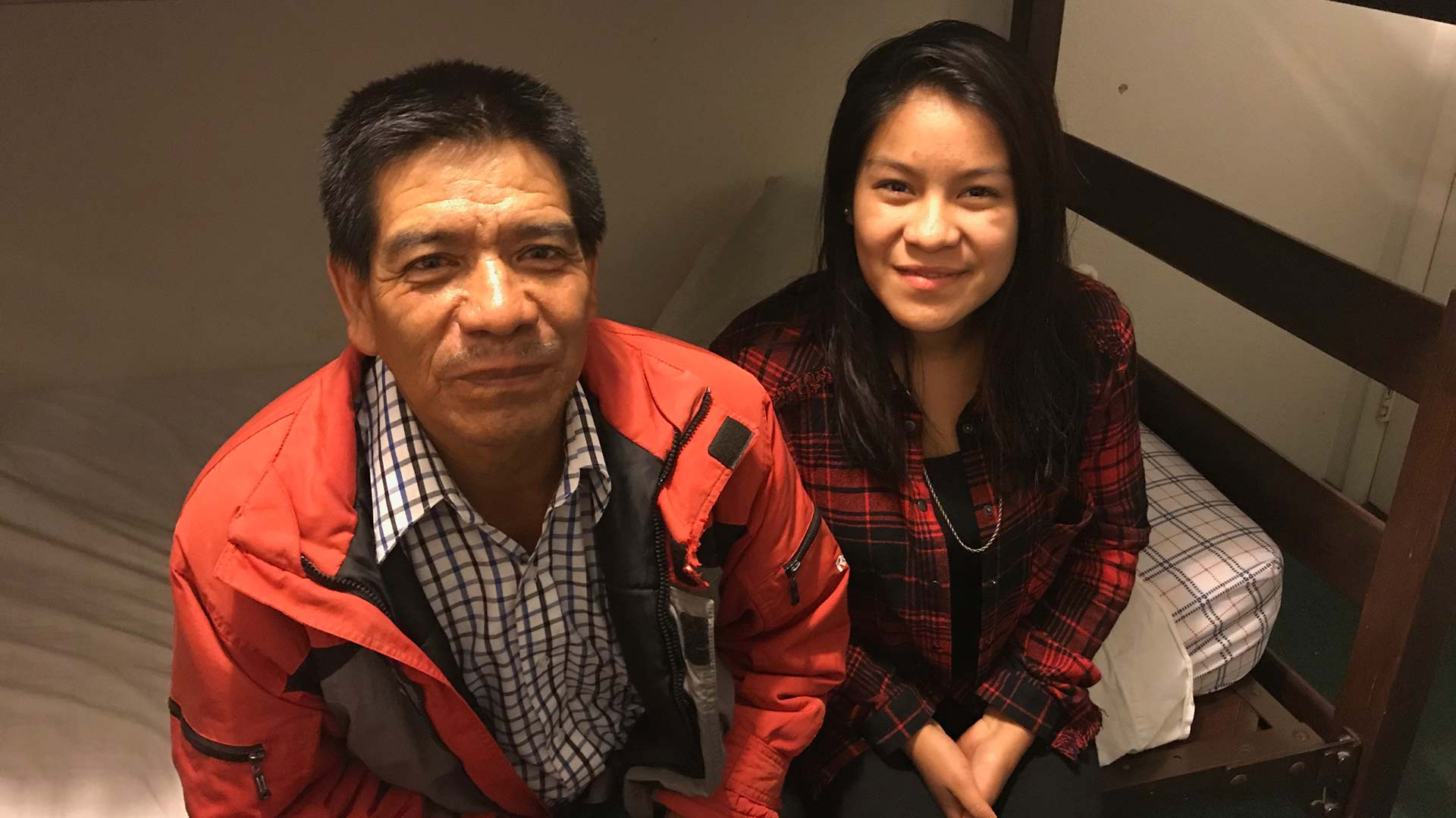 Father and teenager daughter make dangerous trip from Guatemala to the Arizona border.