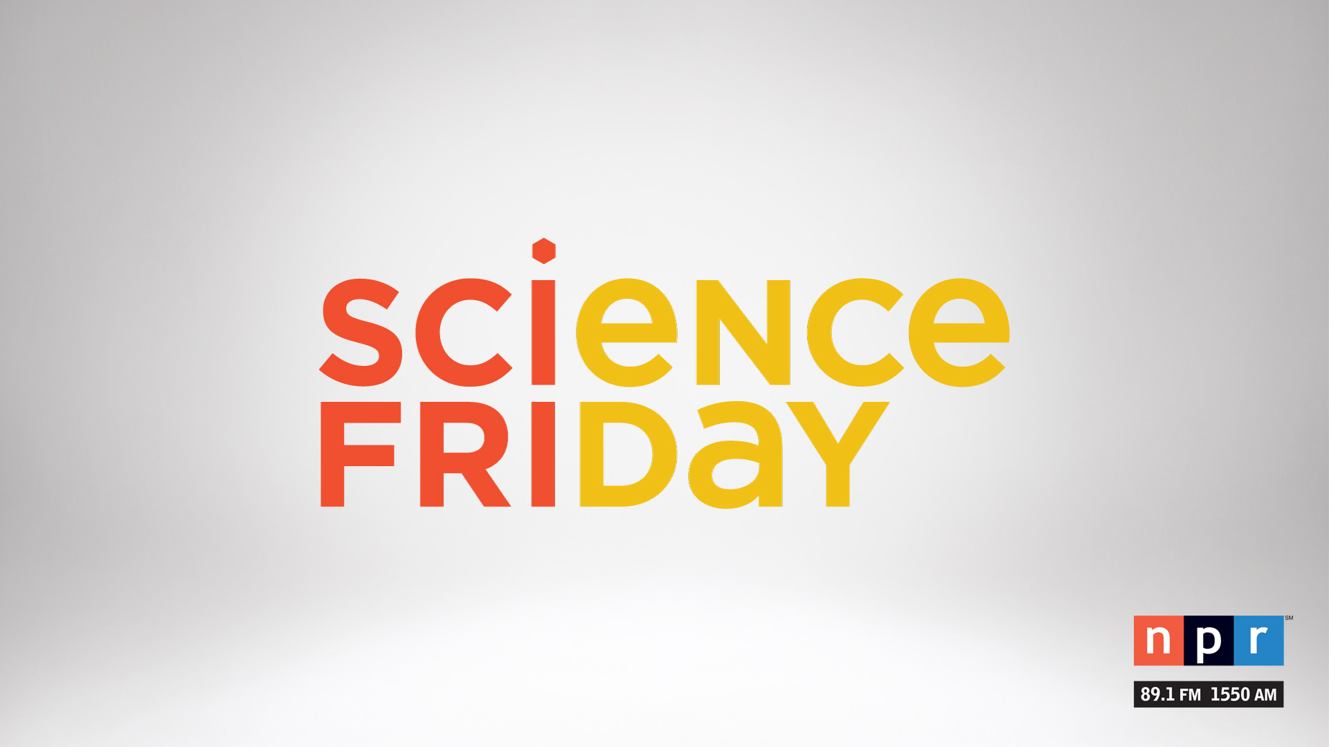Science Friday on NPR 89.1