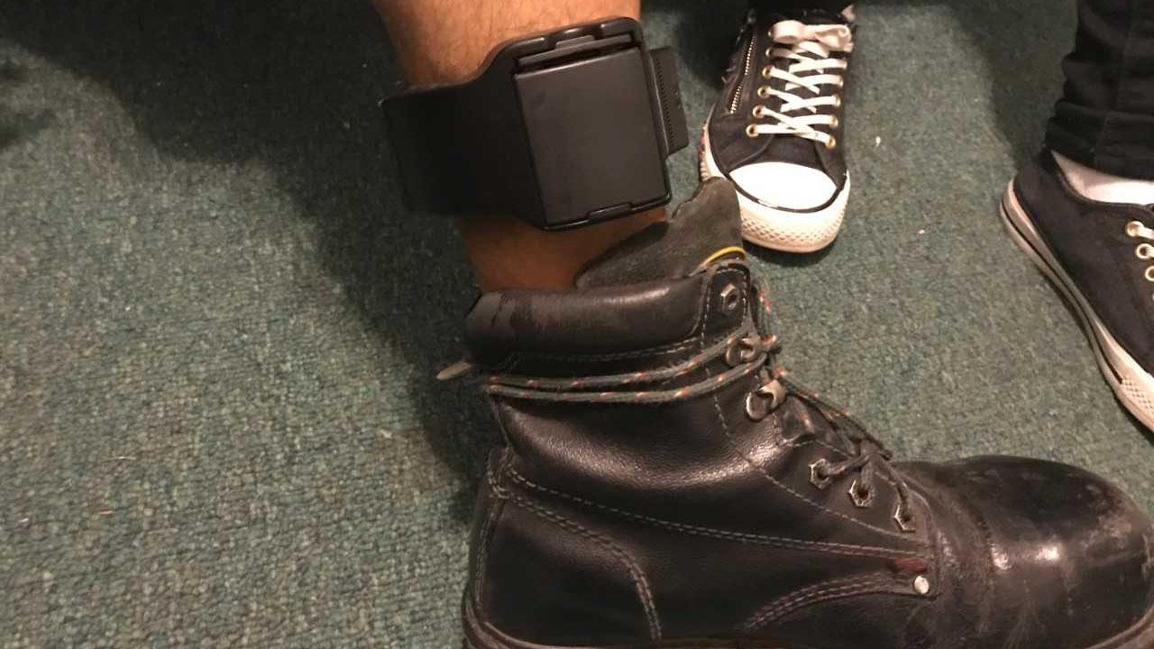 guermo tomas ankle bracelet spotlight