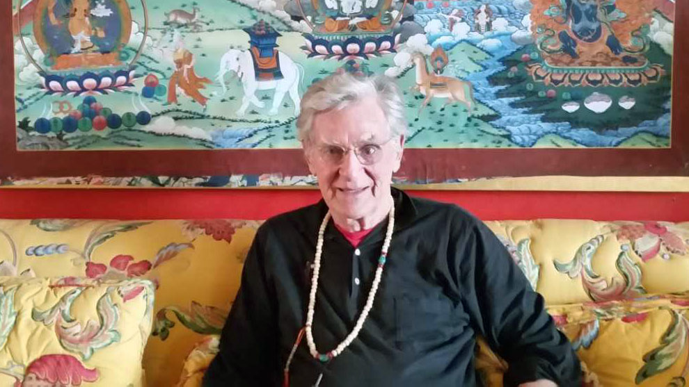 Buddhist scholar and author Robert Thurman.
