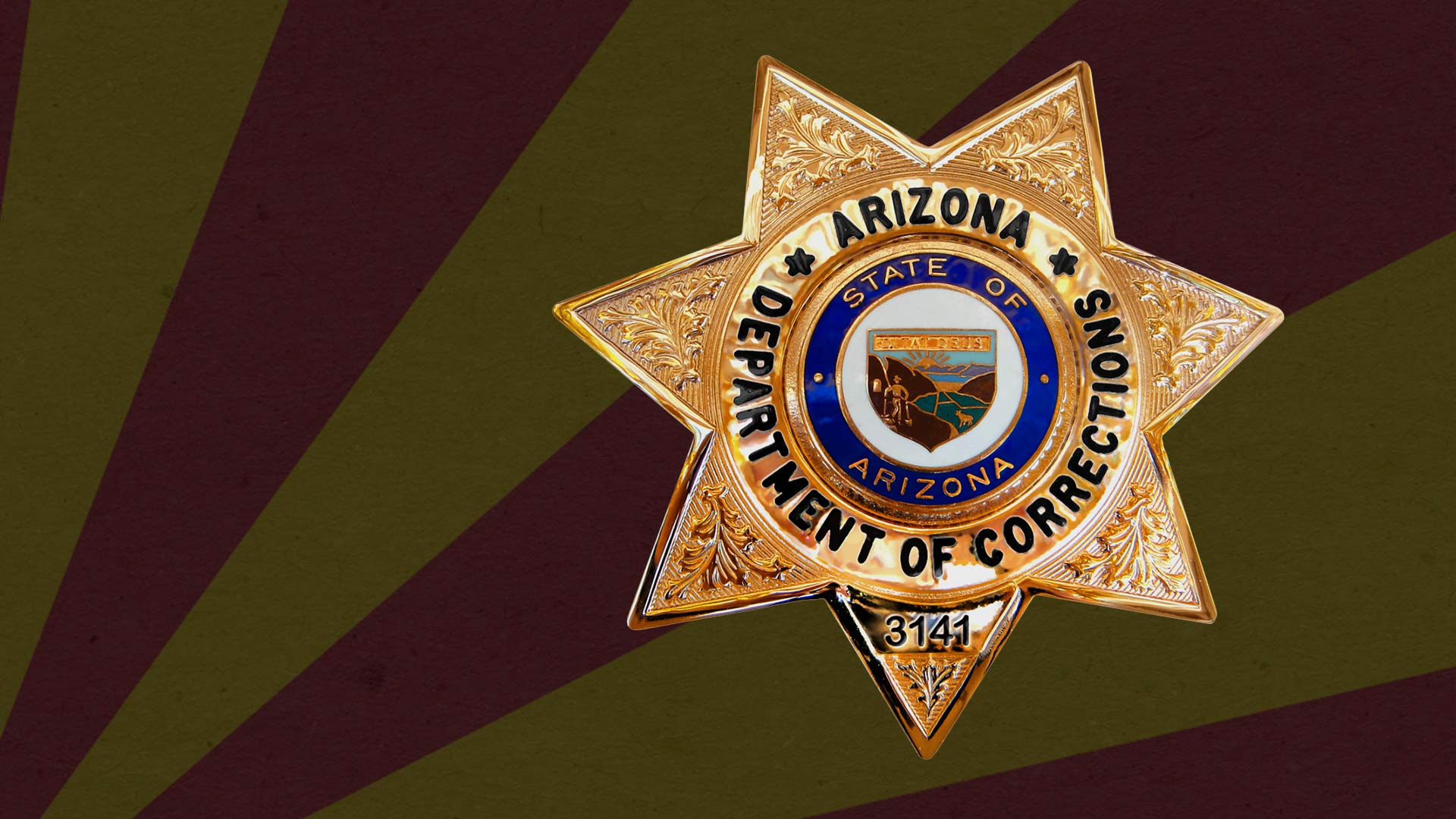 Badge of the Arizona Department of Corrections.