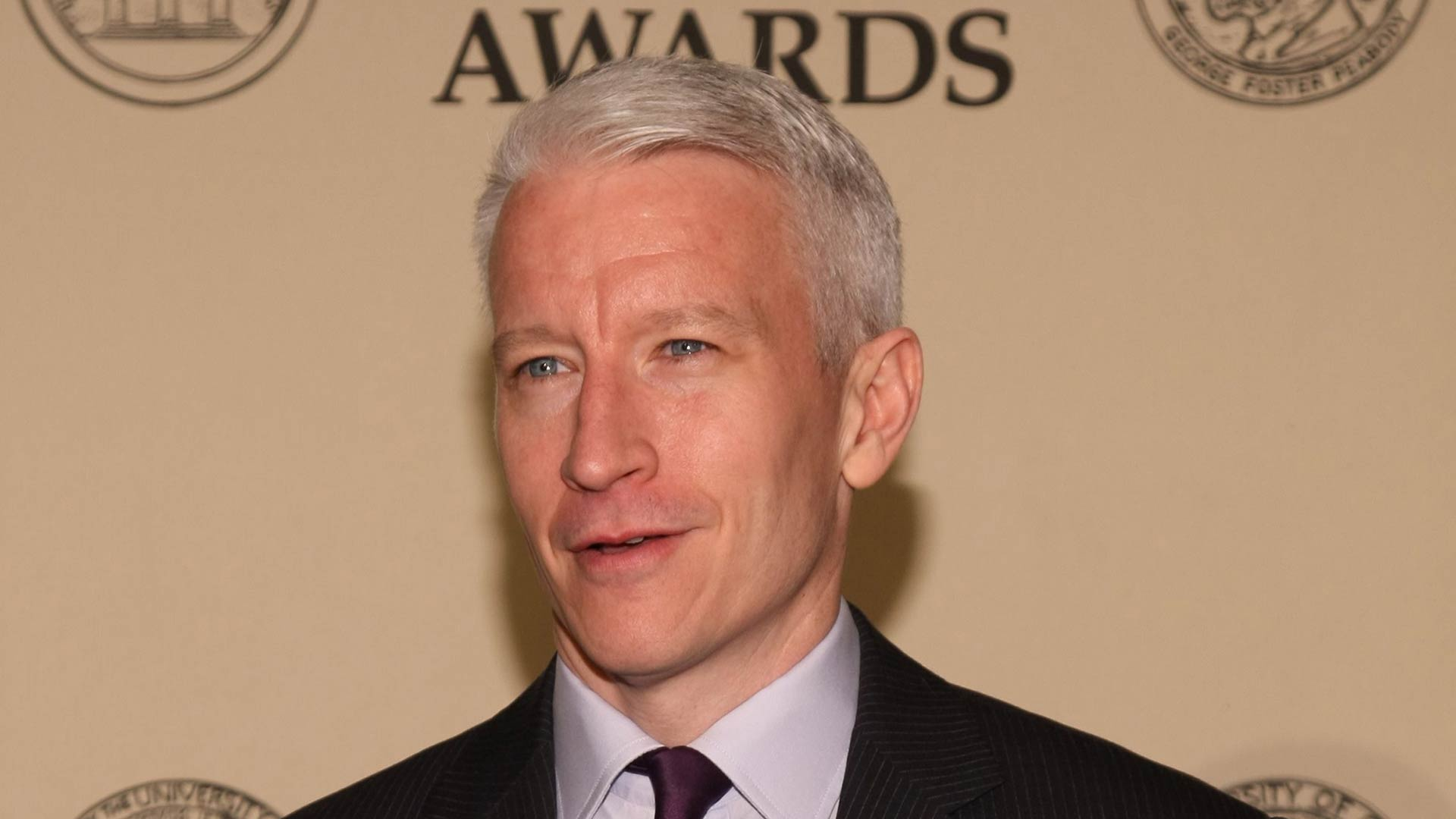Anderson Cooper at the Peabody Awards luncheon in 2012.