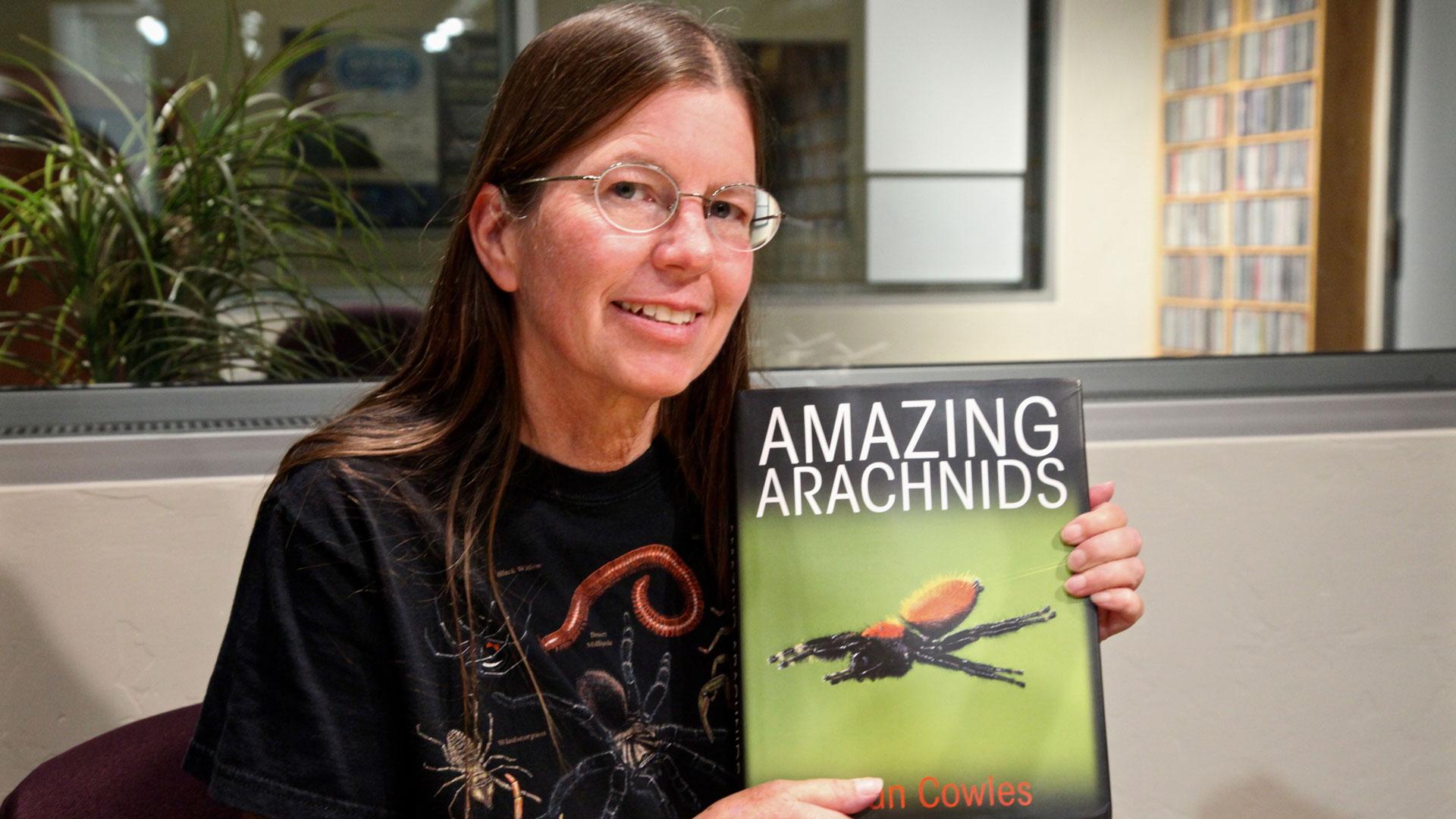 Jillian Cowles with book hero
