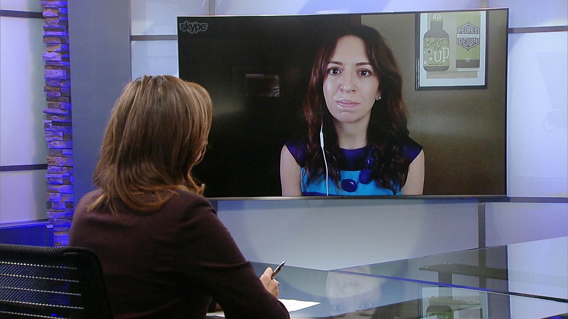 Lorraine Rivera speaks to Javelina CEO Catherine Alonzo via Skype about the credibility of election polls.