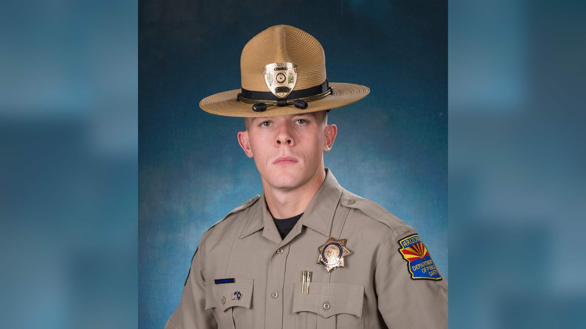 Arizona state trooper Tyler Edenhofer died after being shot during a roadside struggle on Wednesday, July 25.