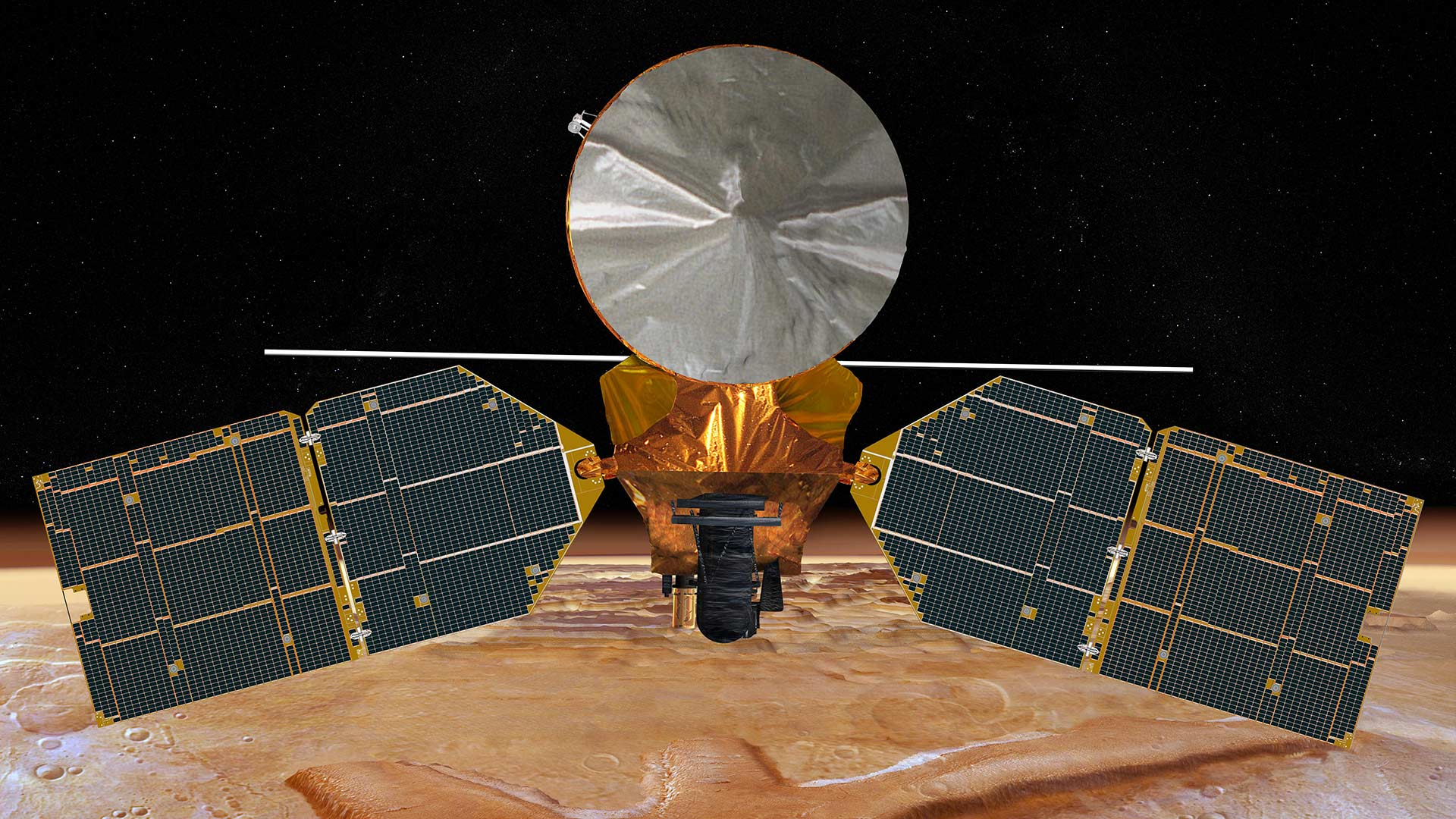 The UA HiRISE camera is aboard the Mars Reconnaissance Orbiter, which has been flying above Mars since March 2006.