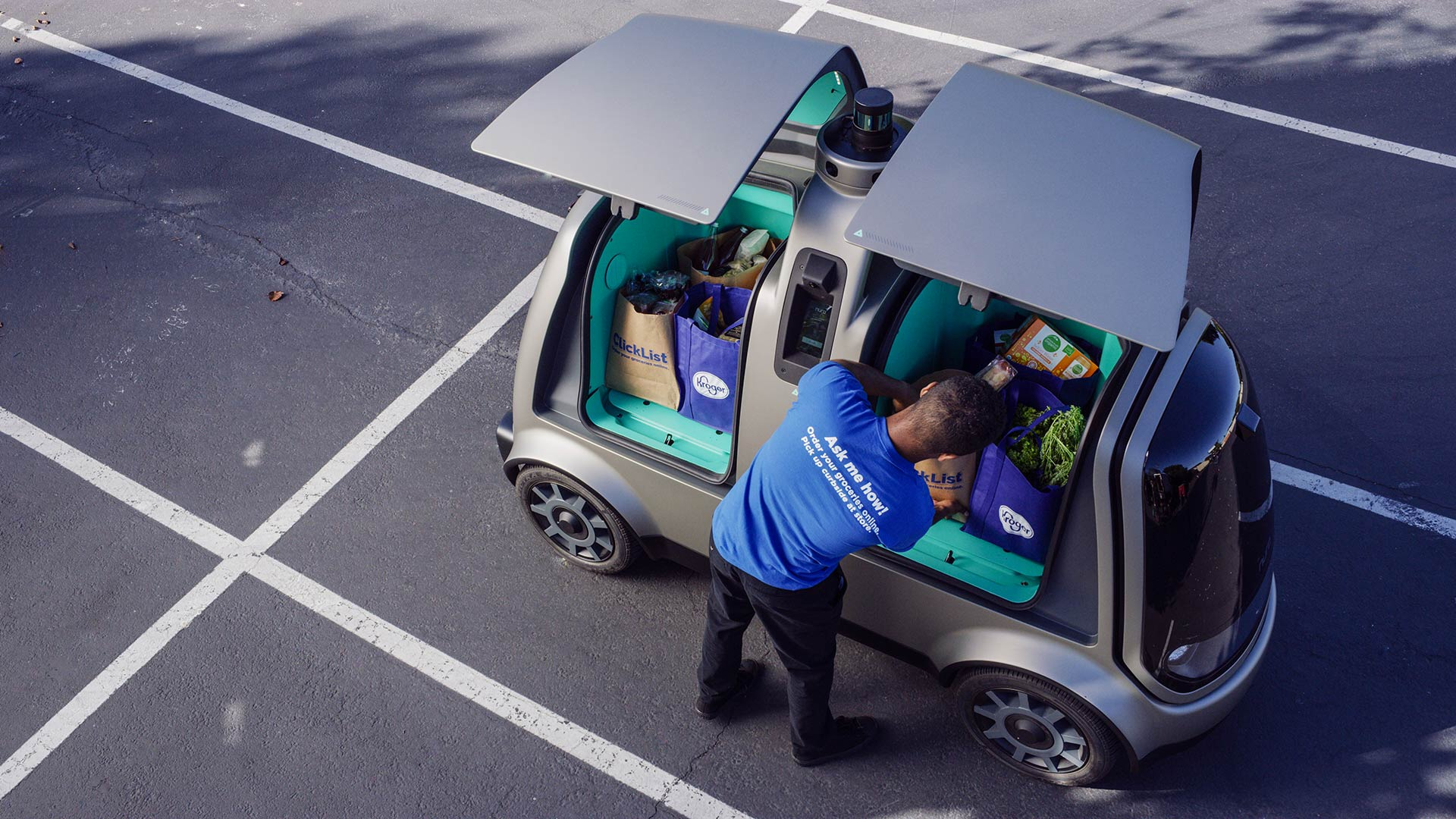 The Kroger Co. announced it would pilot a program using autonomous vehicles to deliver food in Scottsdale.