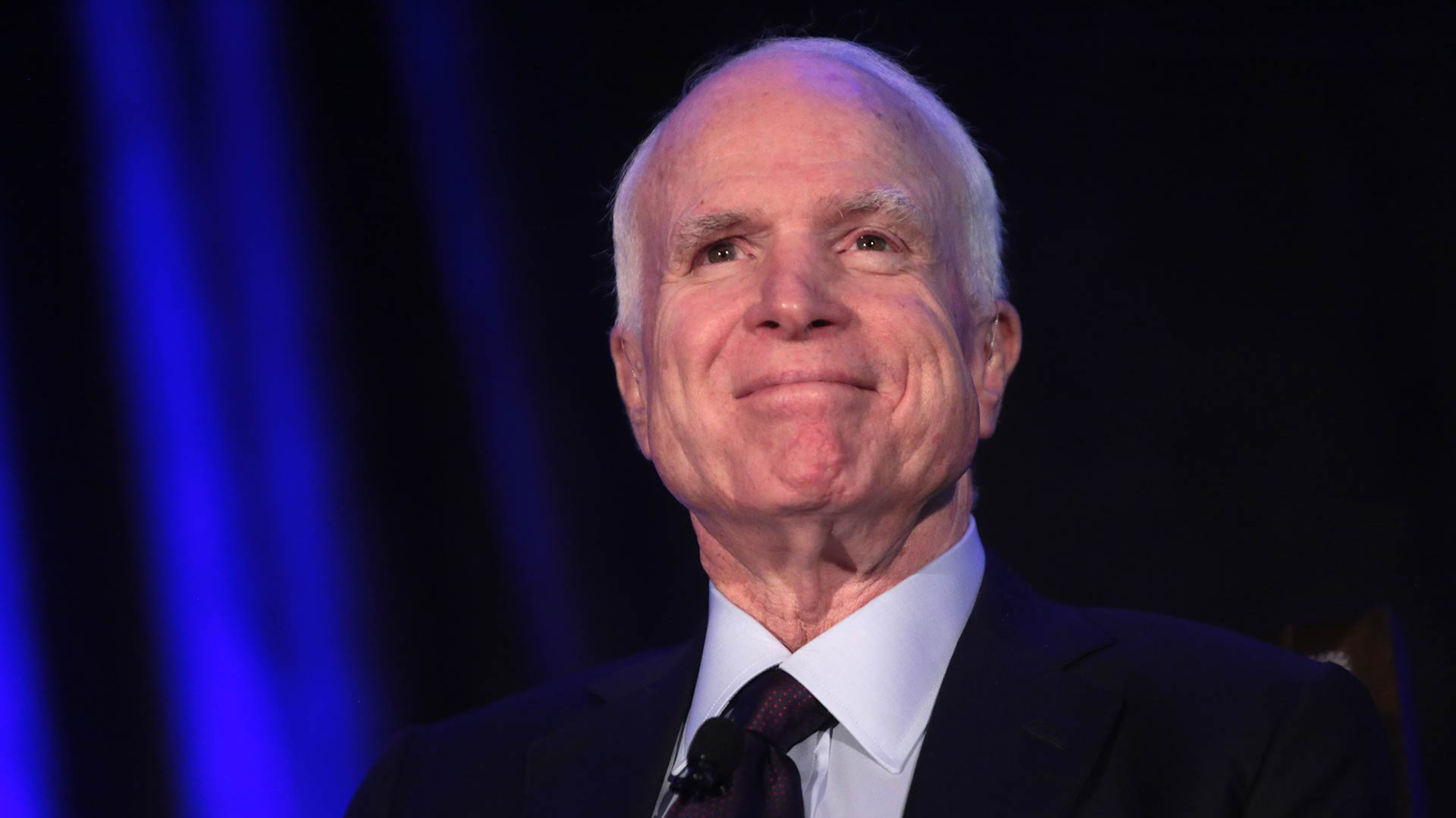 Sen. John McCain in Phoenix, October 2016.