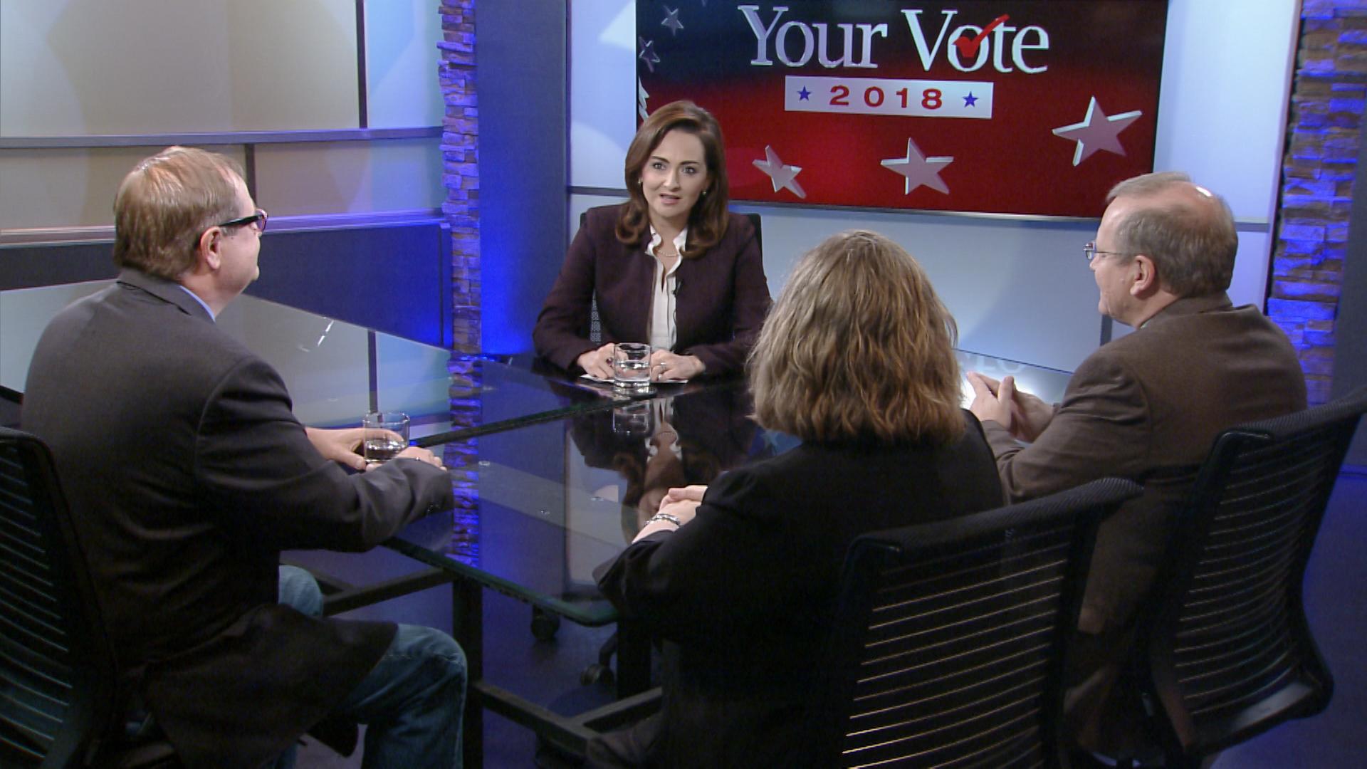 Sarah Garrecht Gassen from Arizona Daily Star. Dan Shearer from Green Valley News. Jim Nintzel from Tucson Local Media.