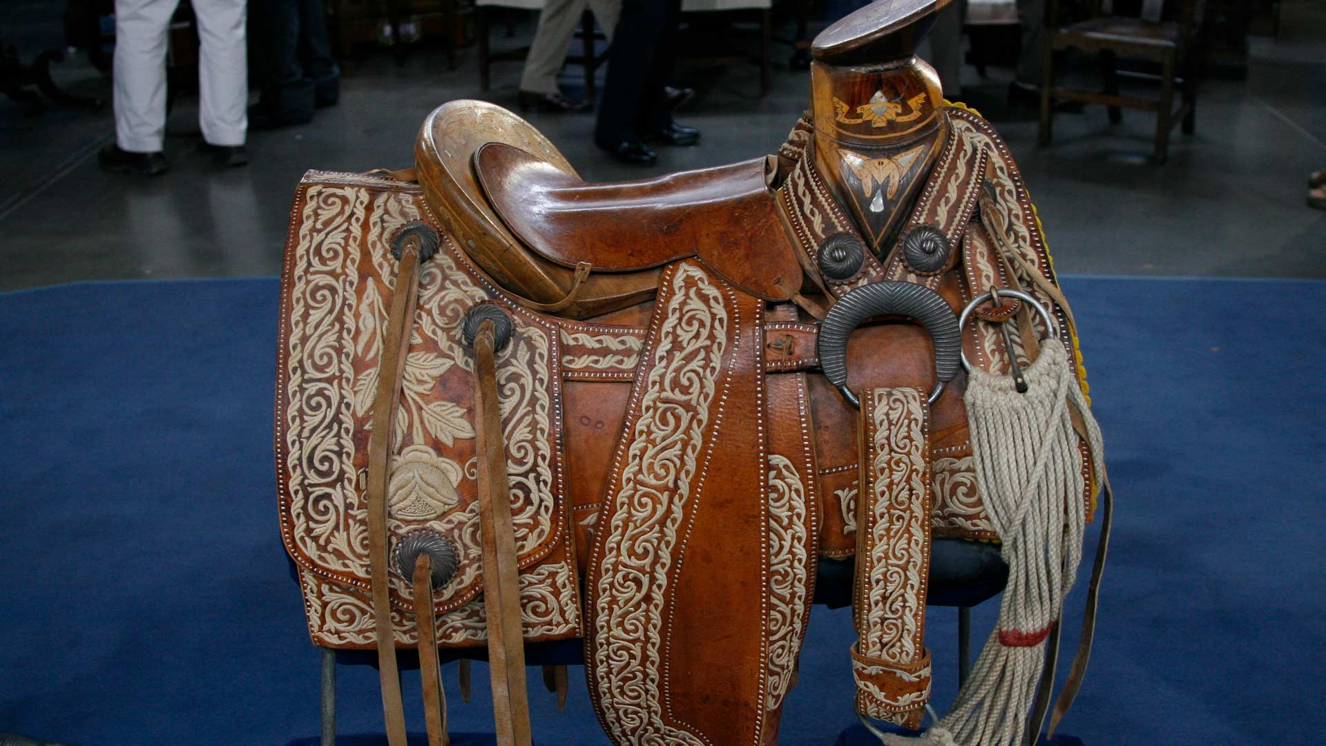 A Mexican Charro saddle, ca. 1940 appraised by Bruce M. Shackelford in Tucson, Arizona. Antiques Roadshow: Celebrating Latino Heritage airs Sept. 17 at 8 pm on PBS 6.