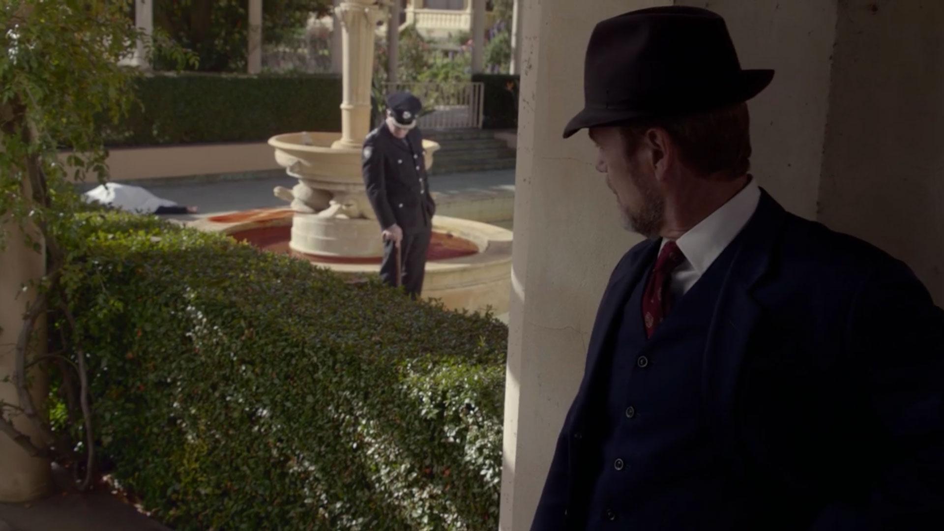 Dr. Blake investigates a murder despite being off the force.