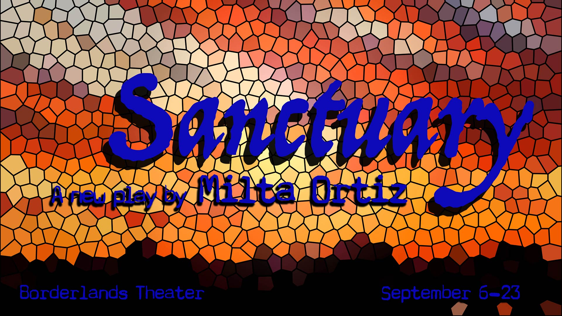 """Sanctuary"" a new play by Tucson's Borderlands Theater  (September 2018)"