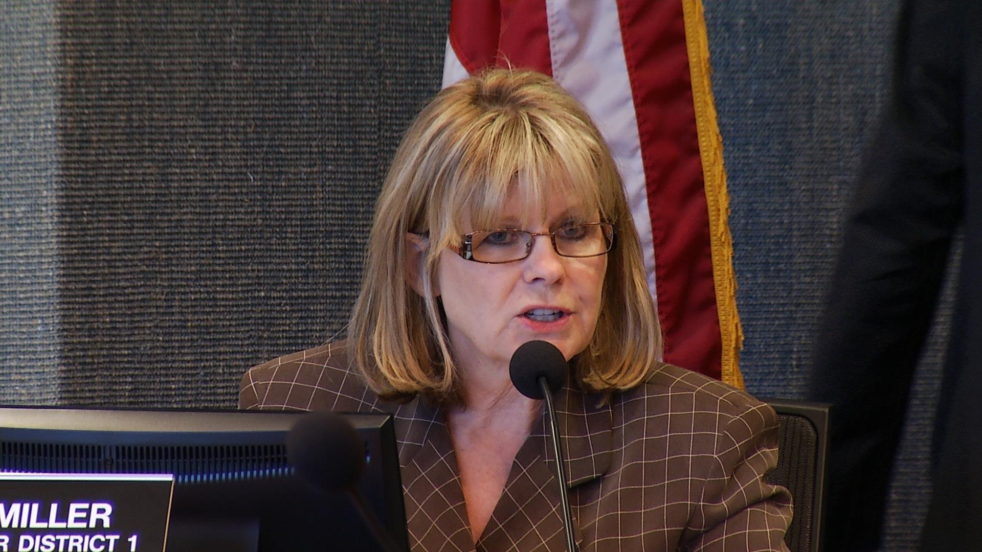 Pima County Supervisor Ally Miller.