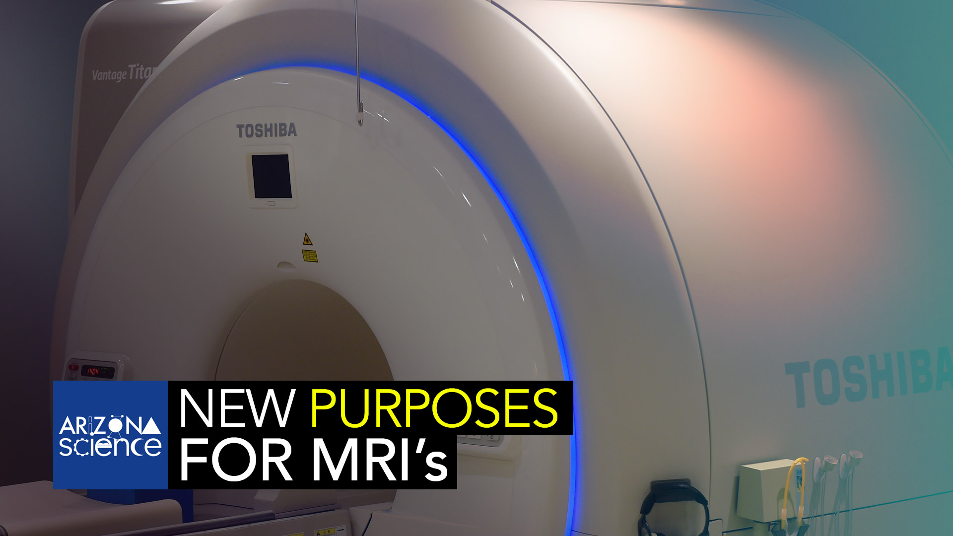 An MRI machine at Joint Base Langley-Eustis, VA