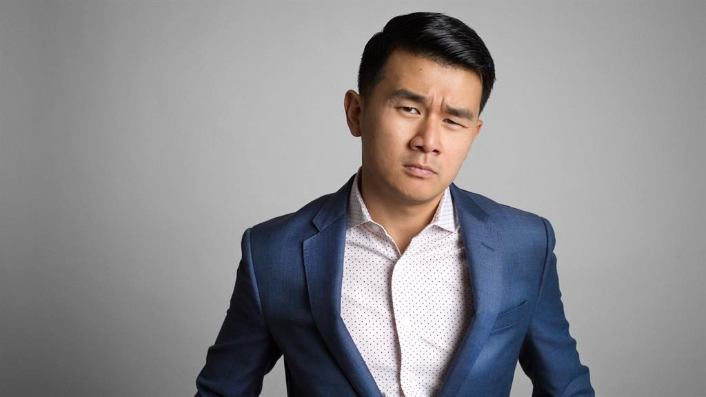 ronny chieng blue jacket hero
