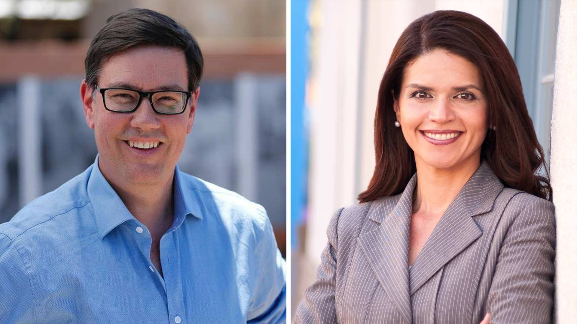Steve Farley and Regina Romero, via the candidates' Facebook pages.