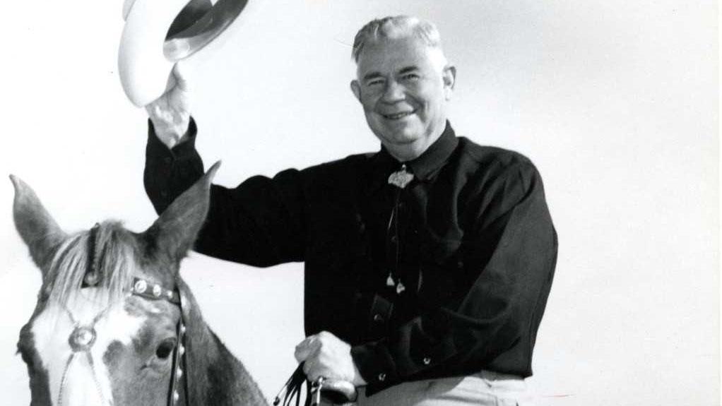 Arizona lawyer, senator, governor, and state supreme court justice Ernest W. McFarland (1894 - 1984).