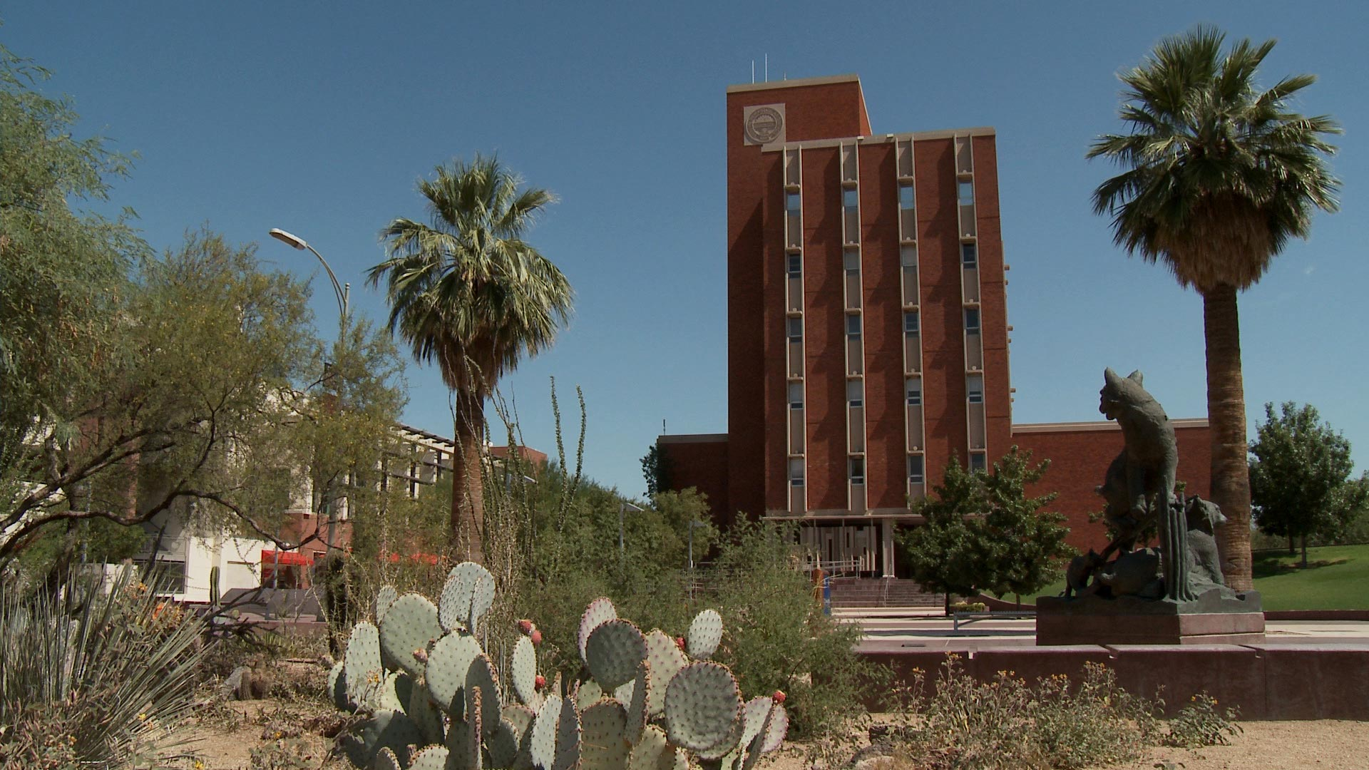 A file image of the University of Arizona Administration building.