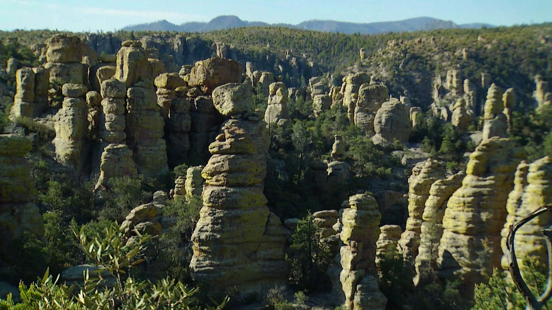 Chiricahua National Monument.