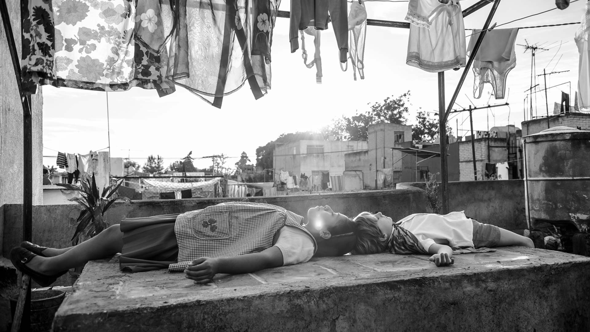 "A still image from the film ""Roma"" by director Alfonso Cuarón."