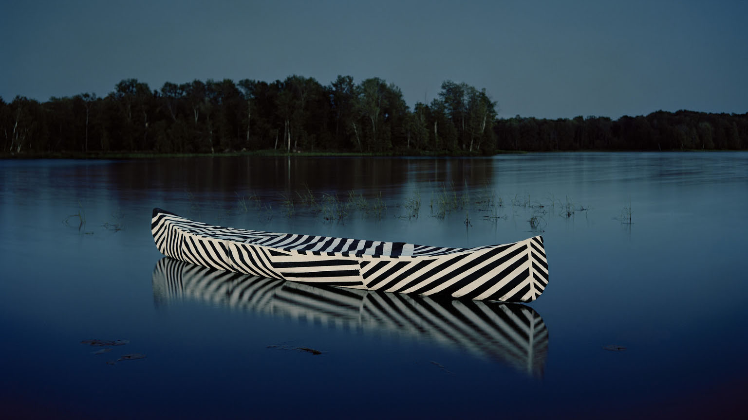 """A photograph by Carrie Schneider included in the MOCA Tucson show """"Dazzled: OMD, Memphis Design & Beyond""""."""