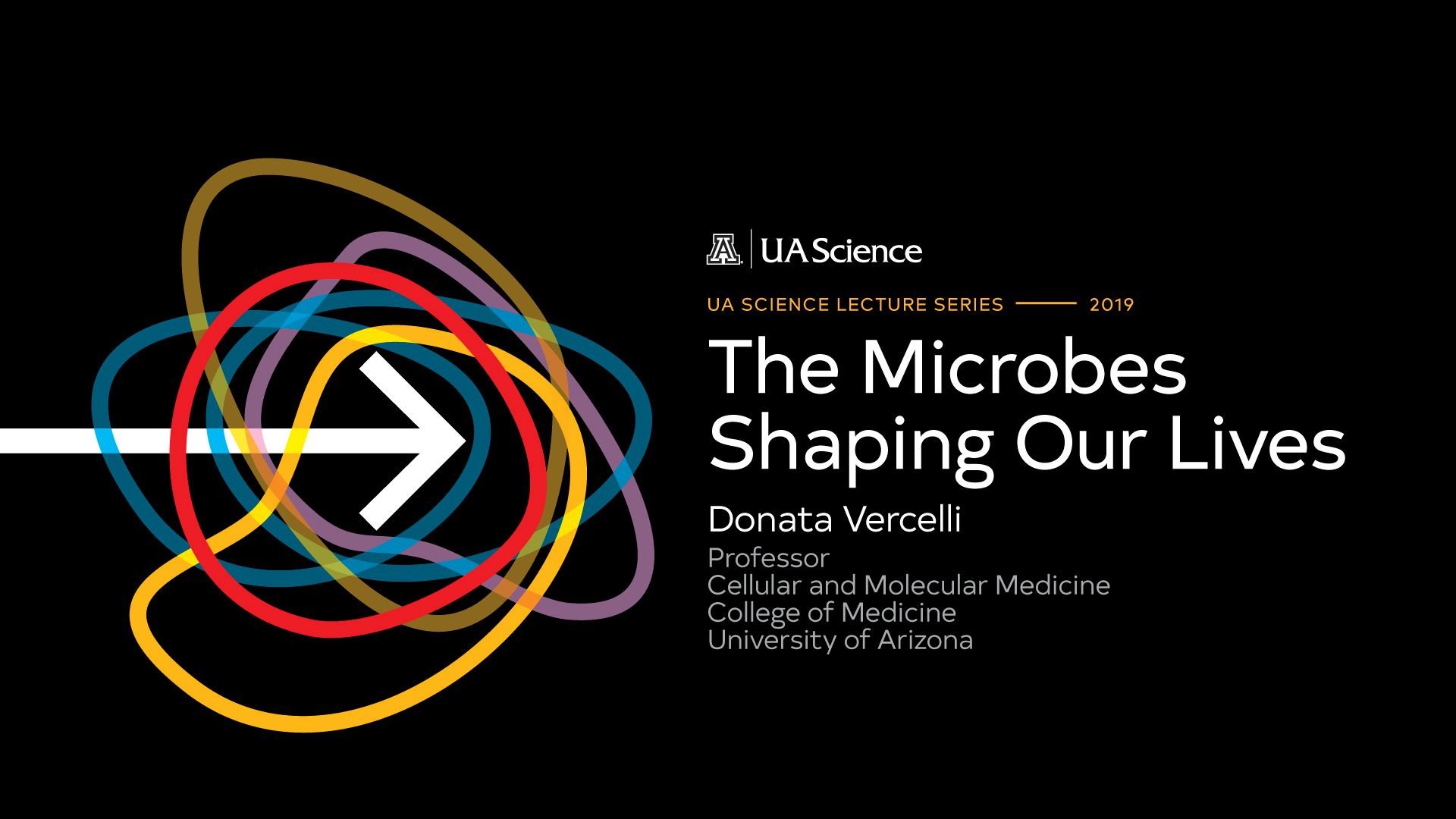 UA Science Lecture Series 2019 Microbes Shaping Our Lives