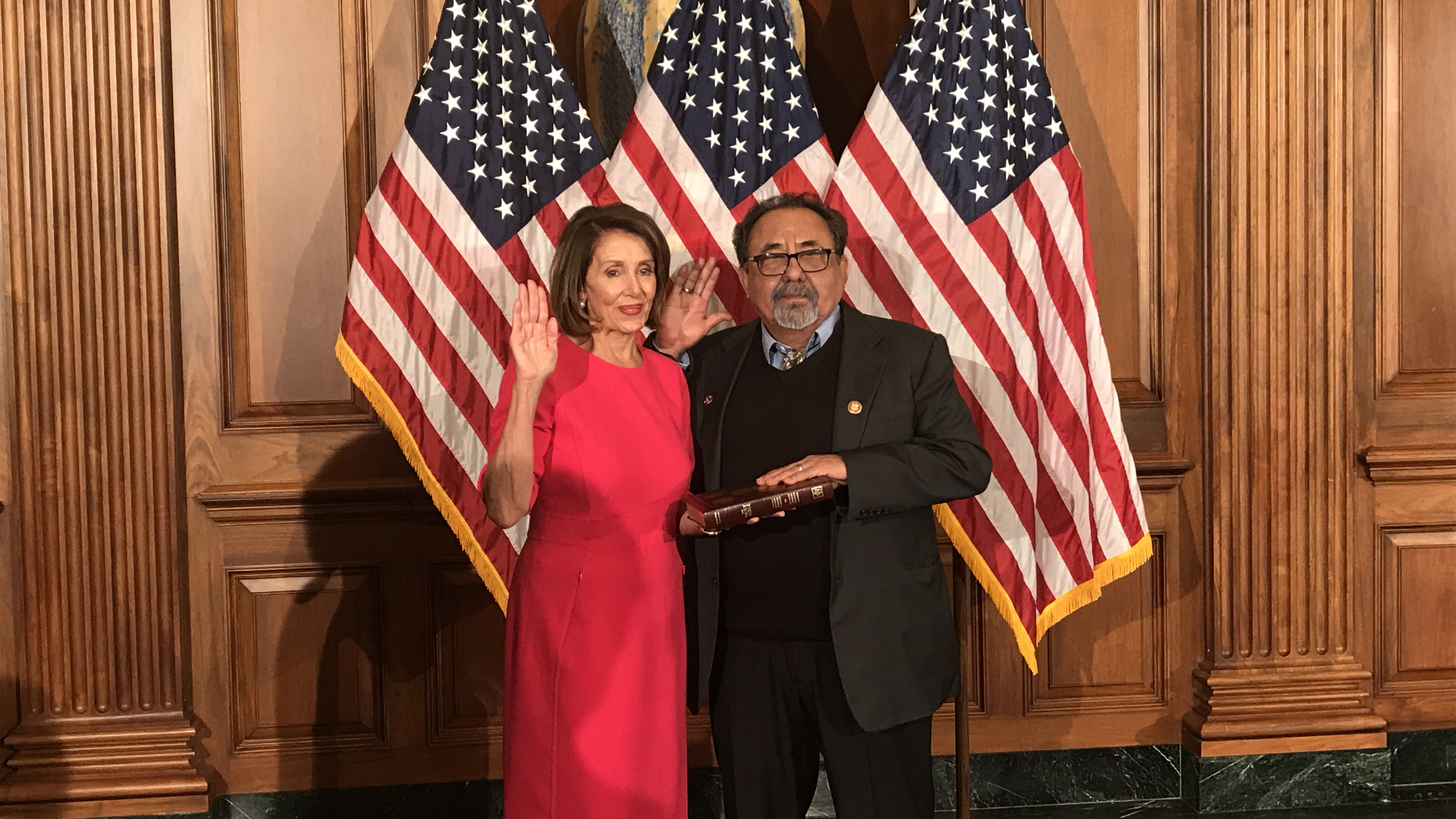 Grijalva Swear In HERO