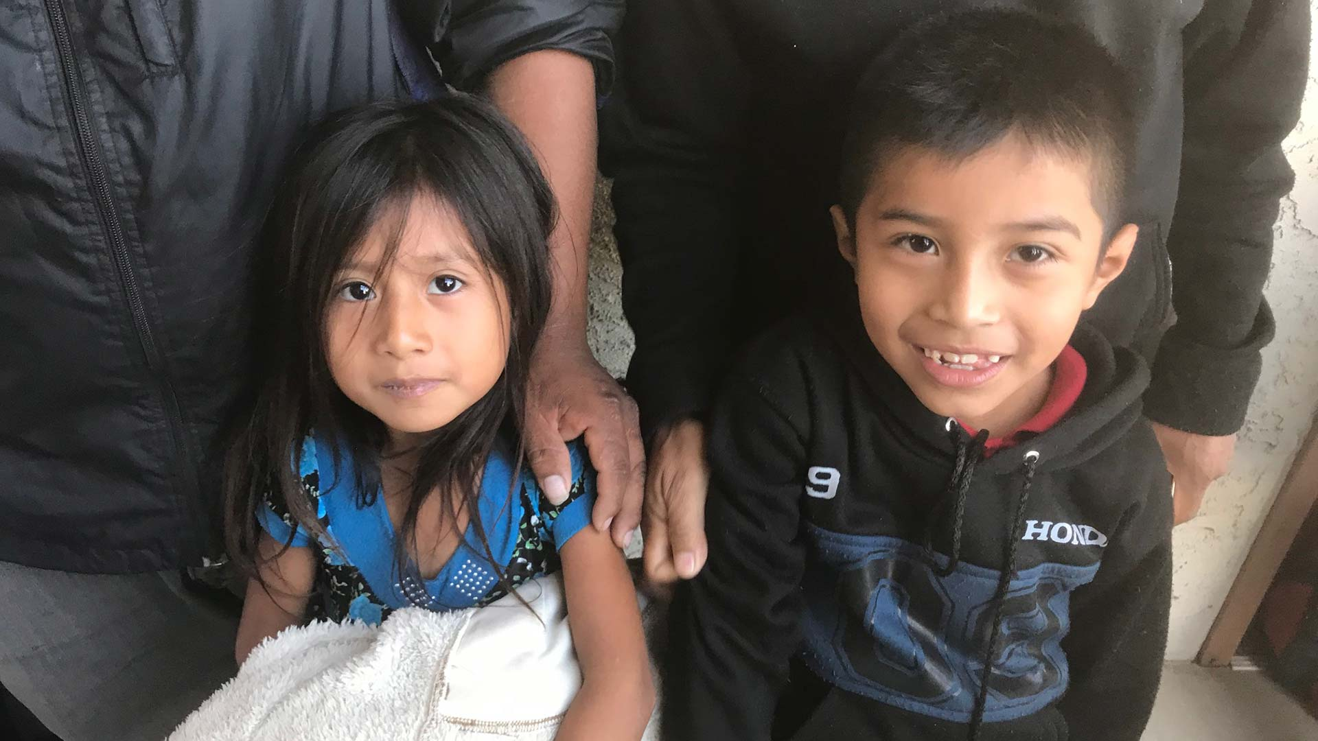 Brother and sister from Guatemala