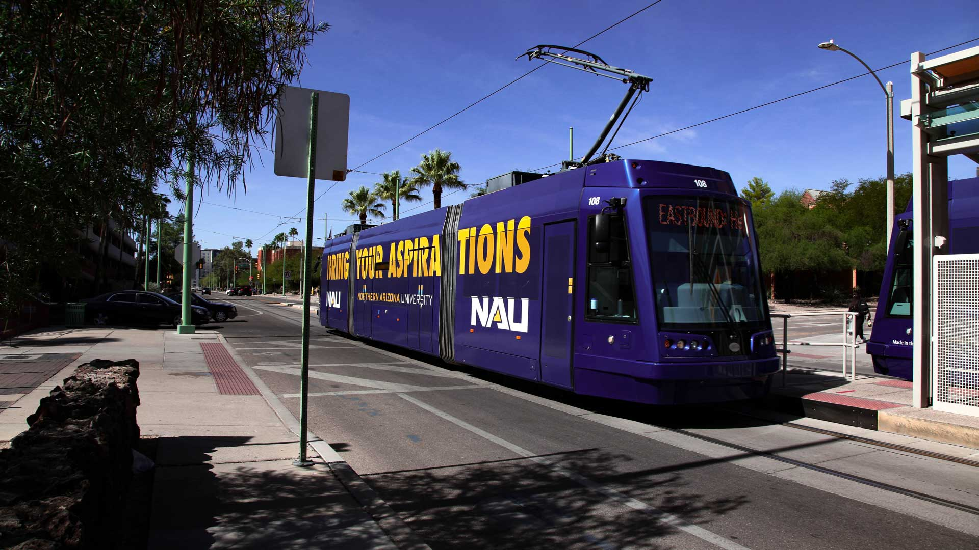 The Sunlink streetcar has been in operation 5 years.