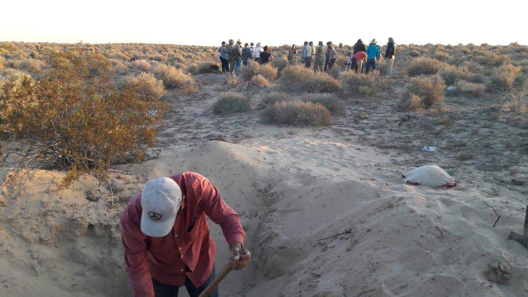 The Madres Buscadoras de Sonora have been unearthing numerous human remains near Rocky Point in October 2019.