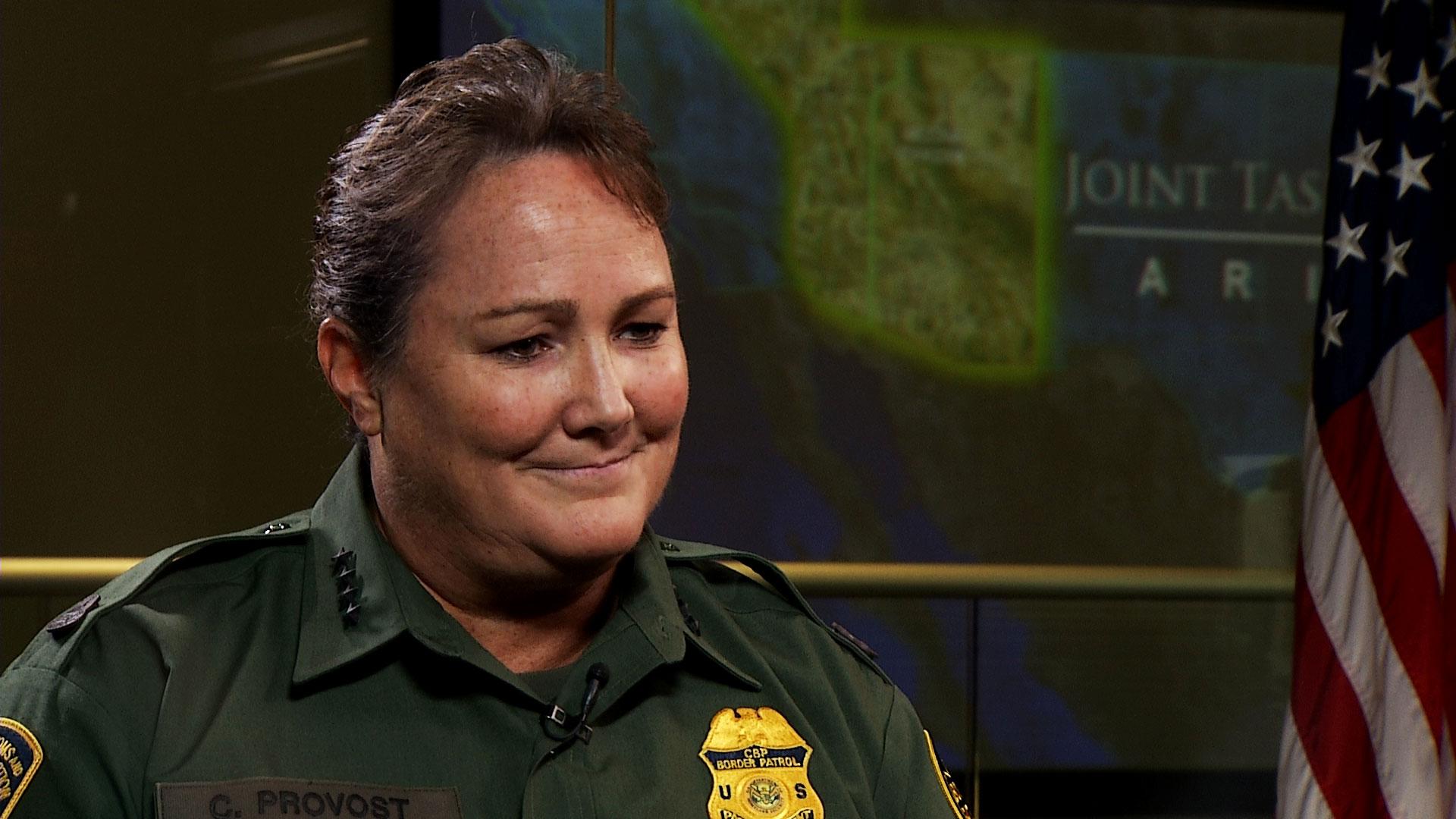 U.S. Border Patrol Chief Carla Provost.