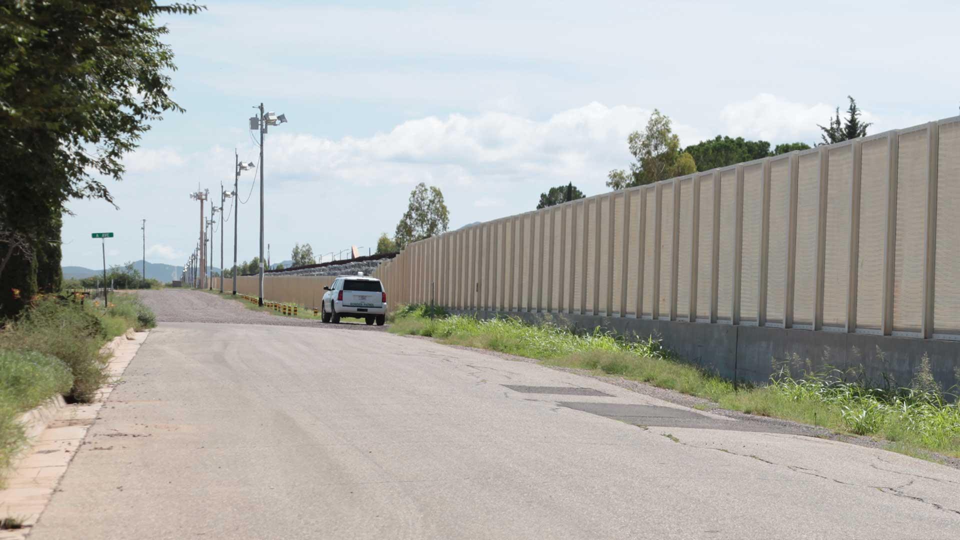 Douglas Border Fence USBP