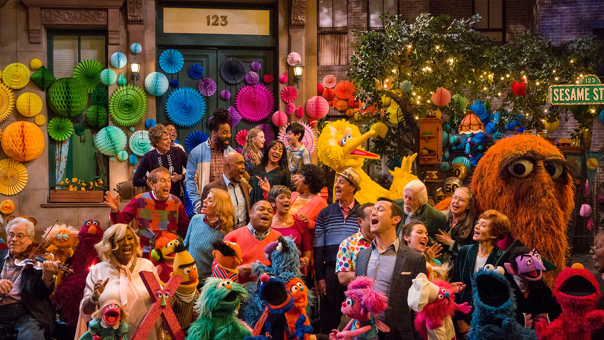 SESAME STREET'S 50TH ANNIVERSARY CELEBRATION