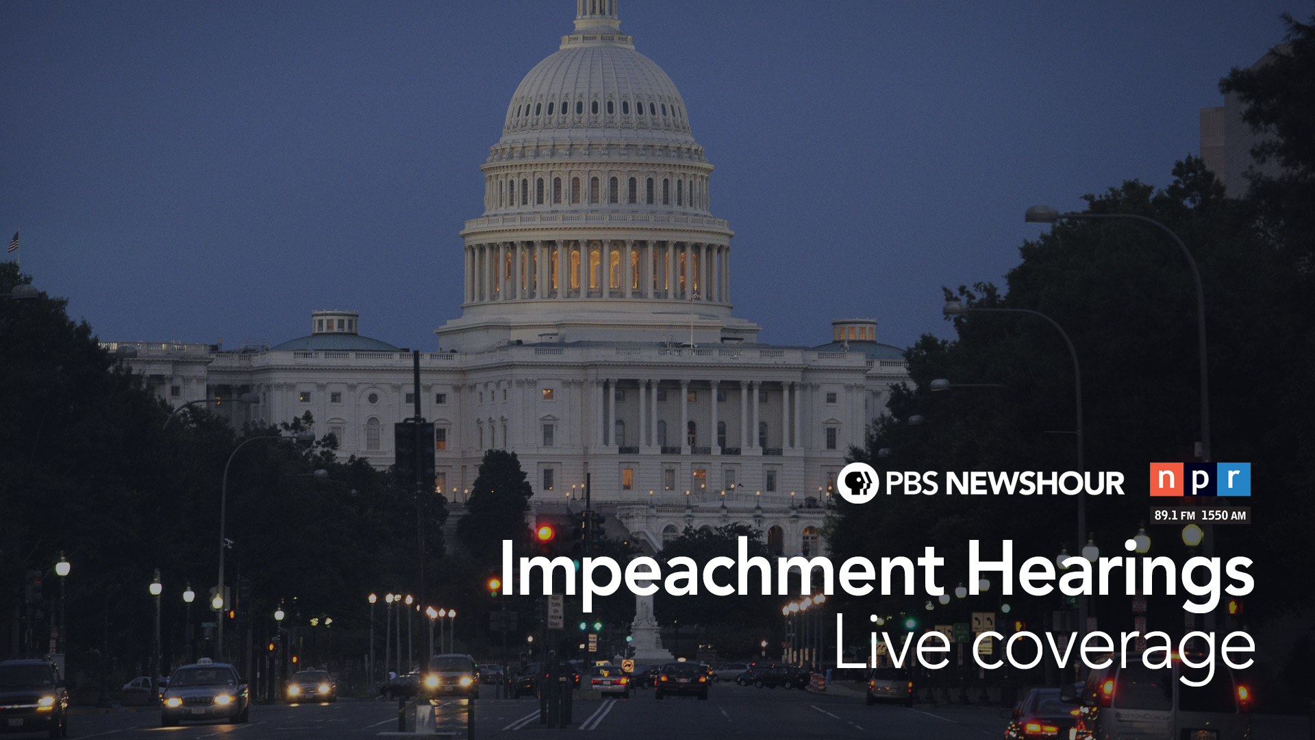Trump Impeachment Inquiry: Watch House Hearings Live
