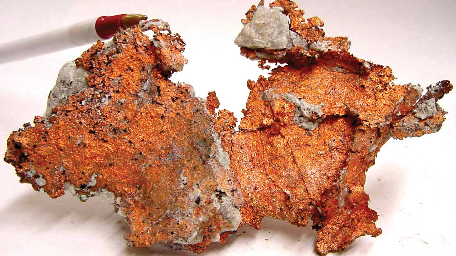 Copper is fairly abundant in Earth's crust; what sets Arizona apart is its wealth of mineable copper, which it owes to a copper-rich granite formed in ancient volcanoes.
