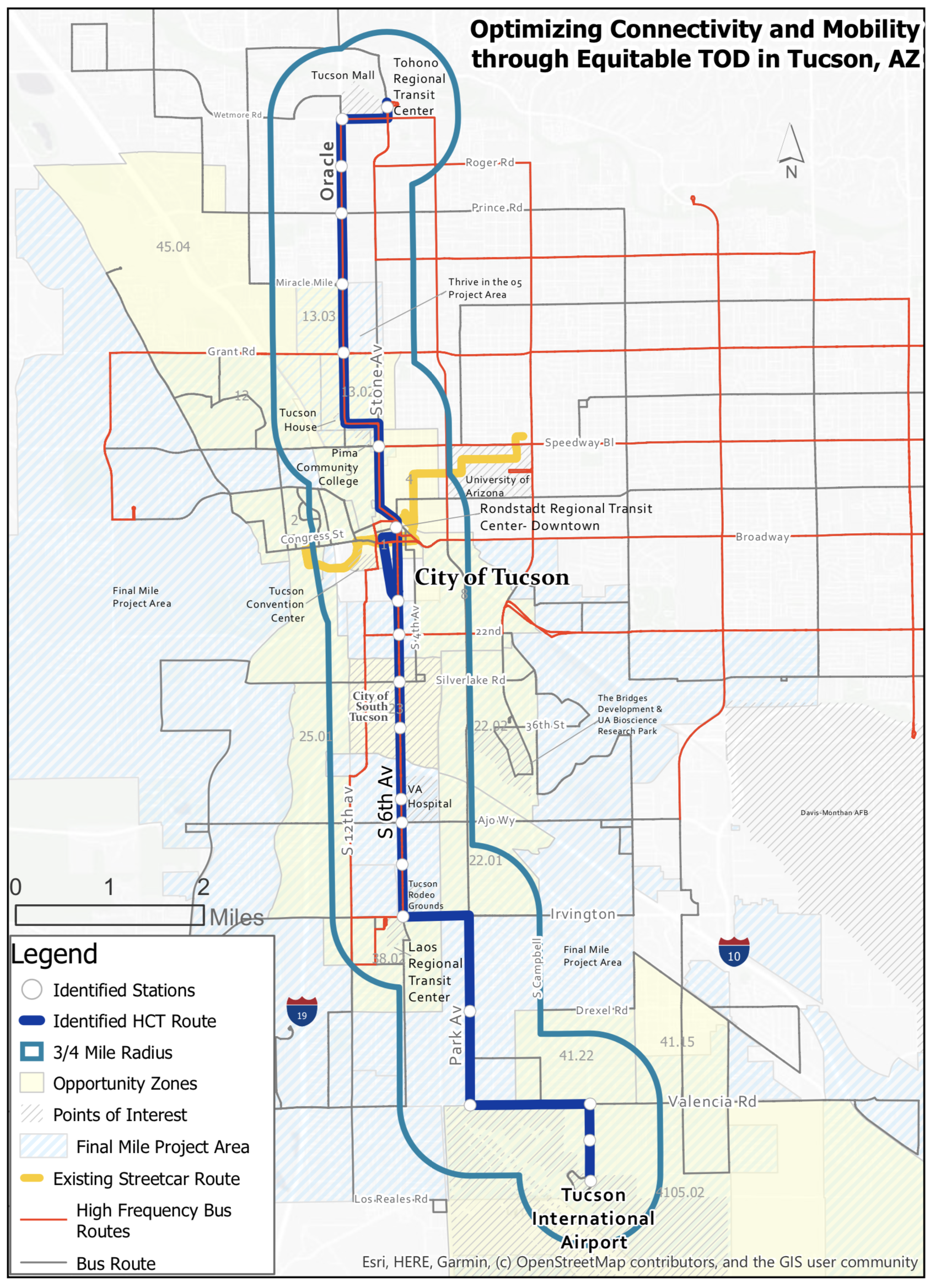 New streetcar route