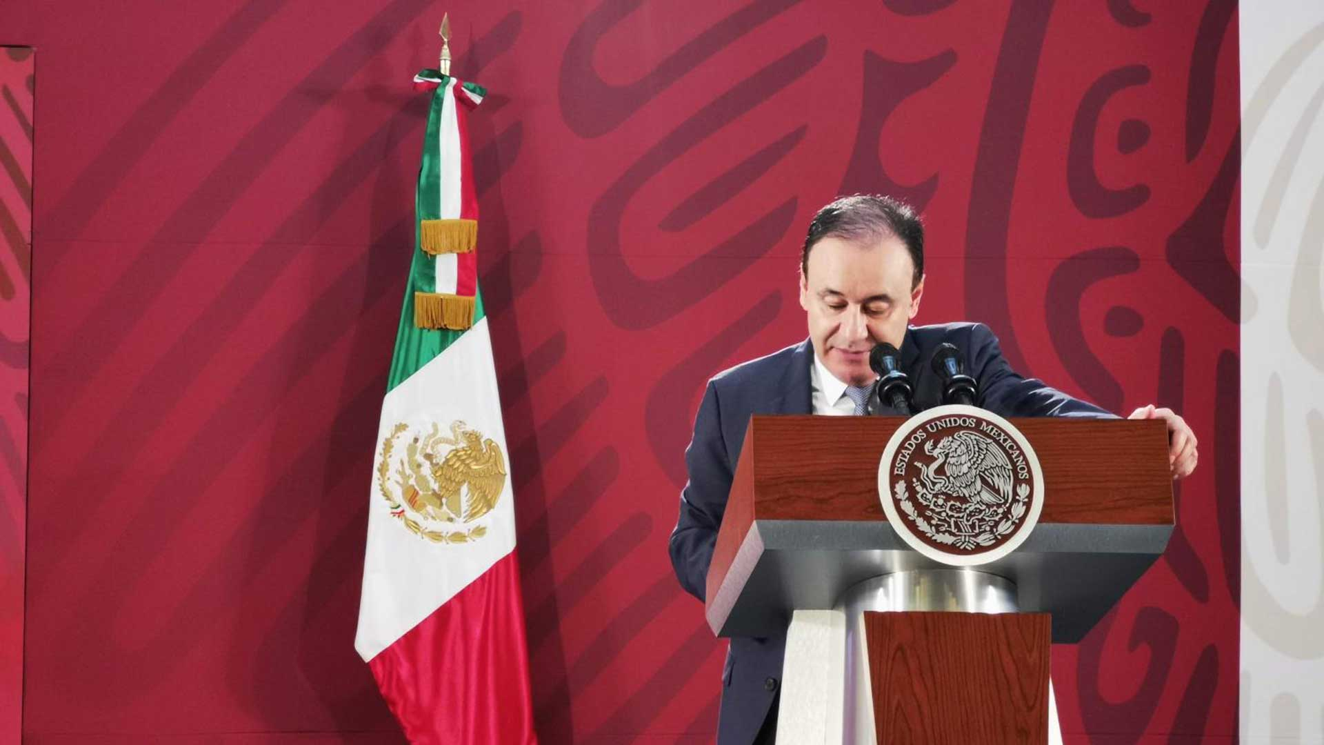Mexican Secretary of Security and Citizen Protection Alfonso Durazo.