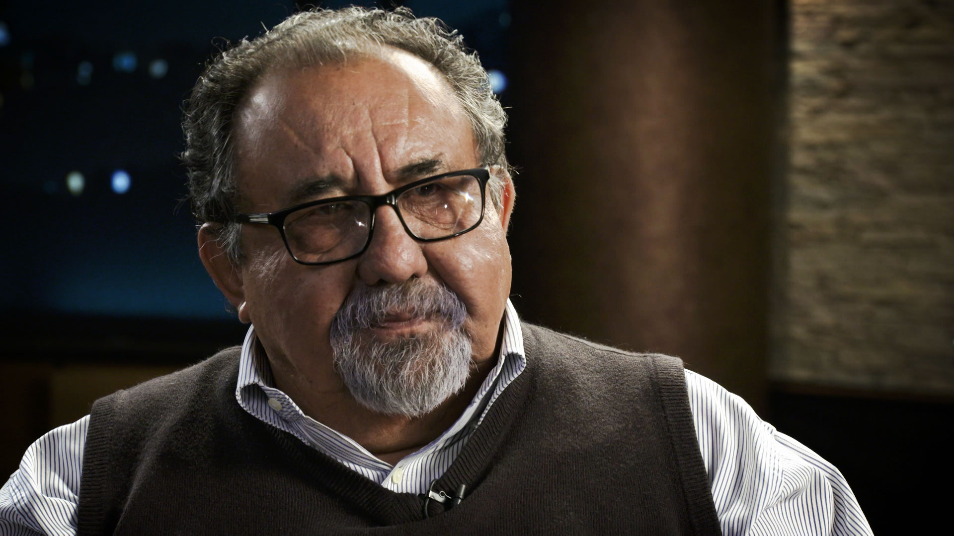 U.S. Rep. Raúl Grijalva sits for an interview at Arizona Public Media in November 2019.