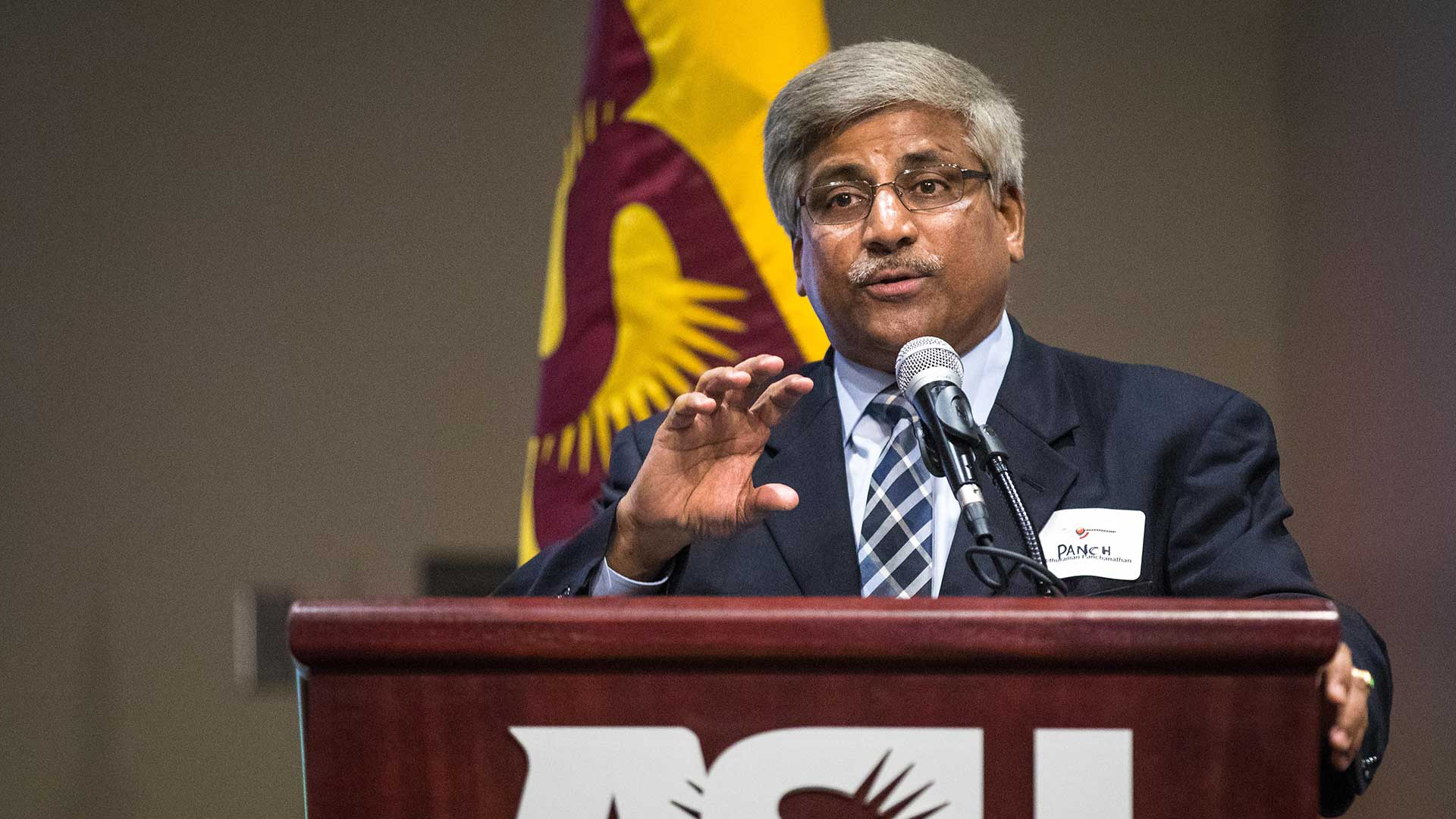 Sethuraman Panchanathan, executive vice president and chief research and innovation officer at ASU Knowledge Enterprise.