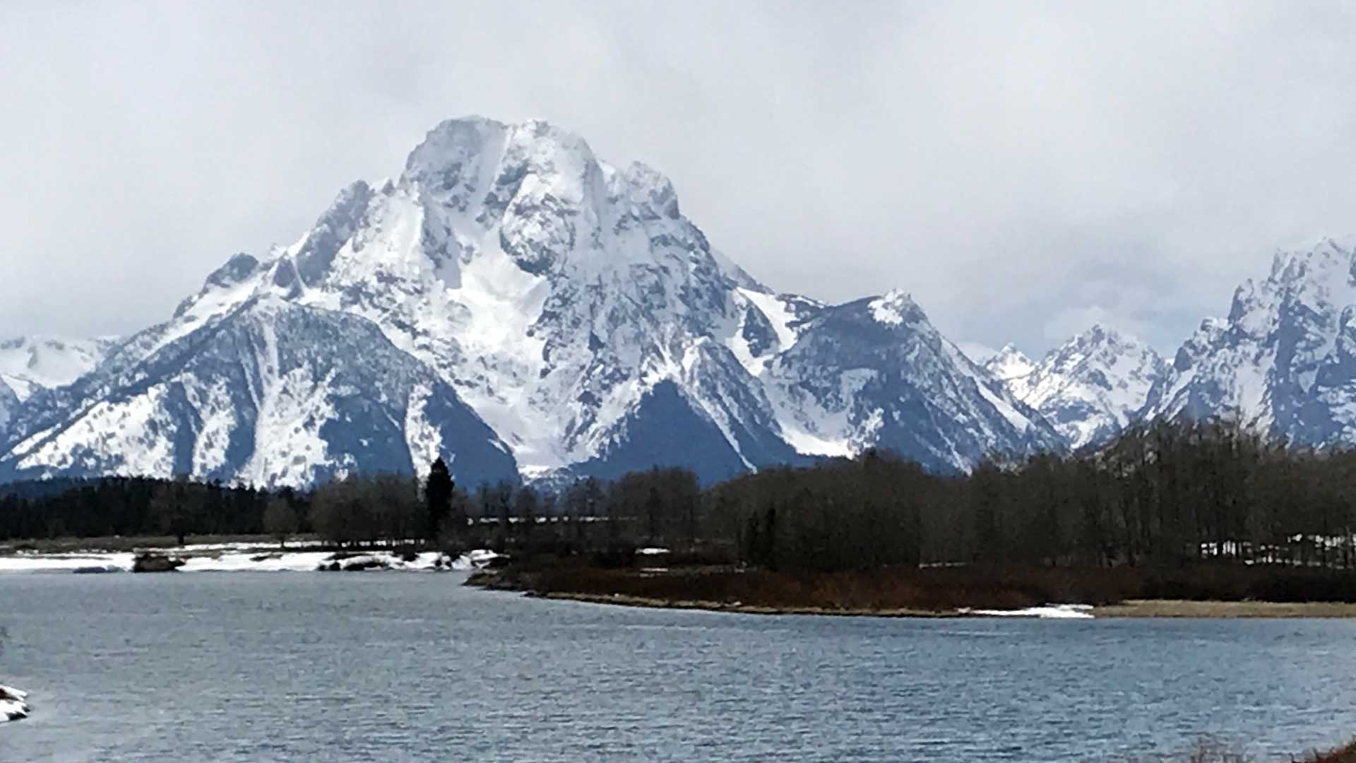 View of the Teton Range.