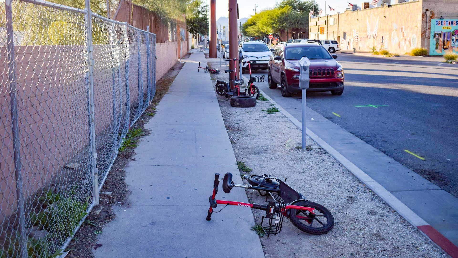 Razor scooters, Dec. 5, 2019.